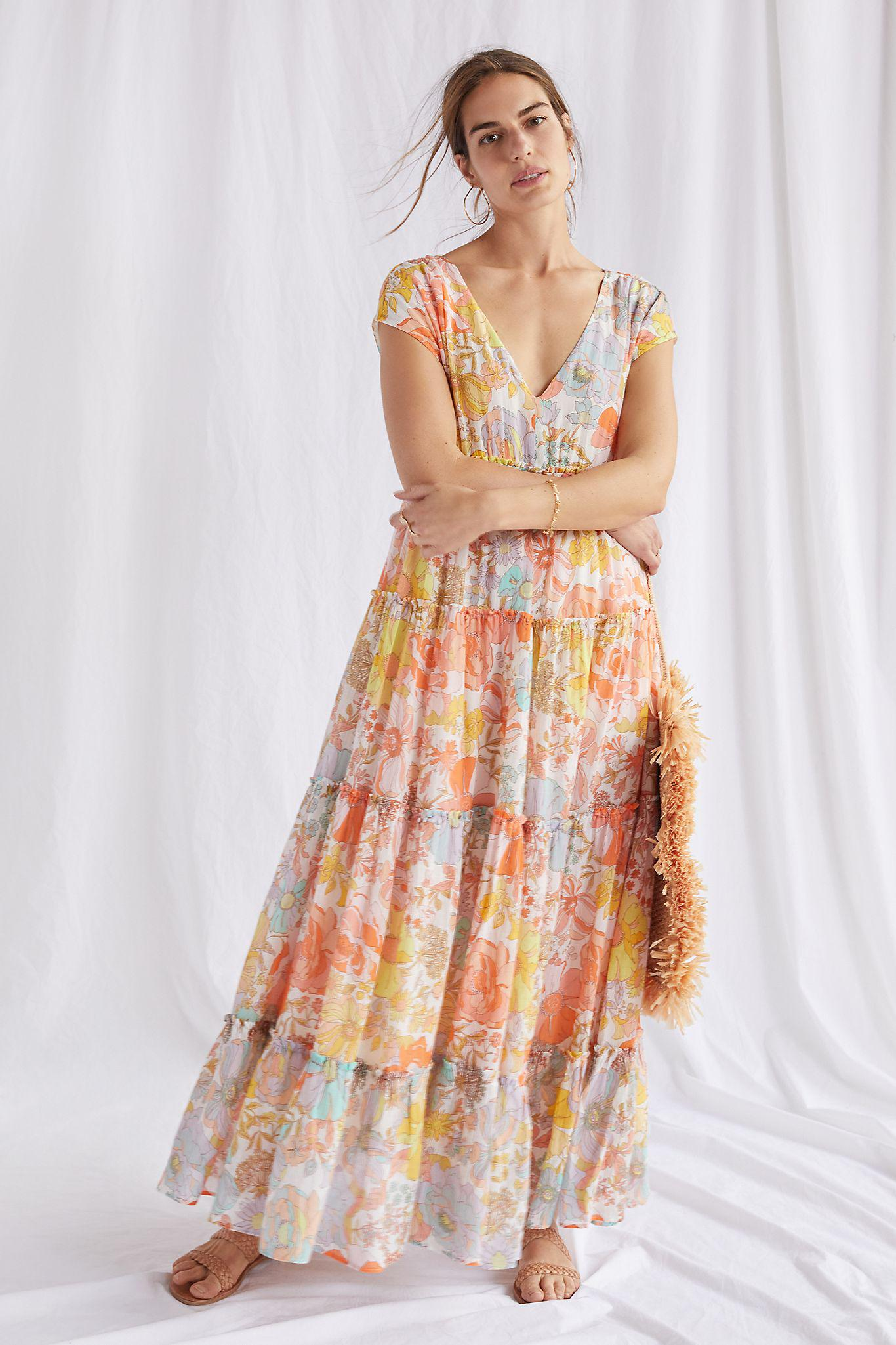 Ethereal Floral Maxi Dress
