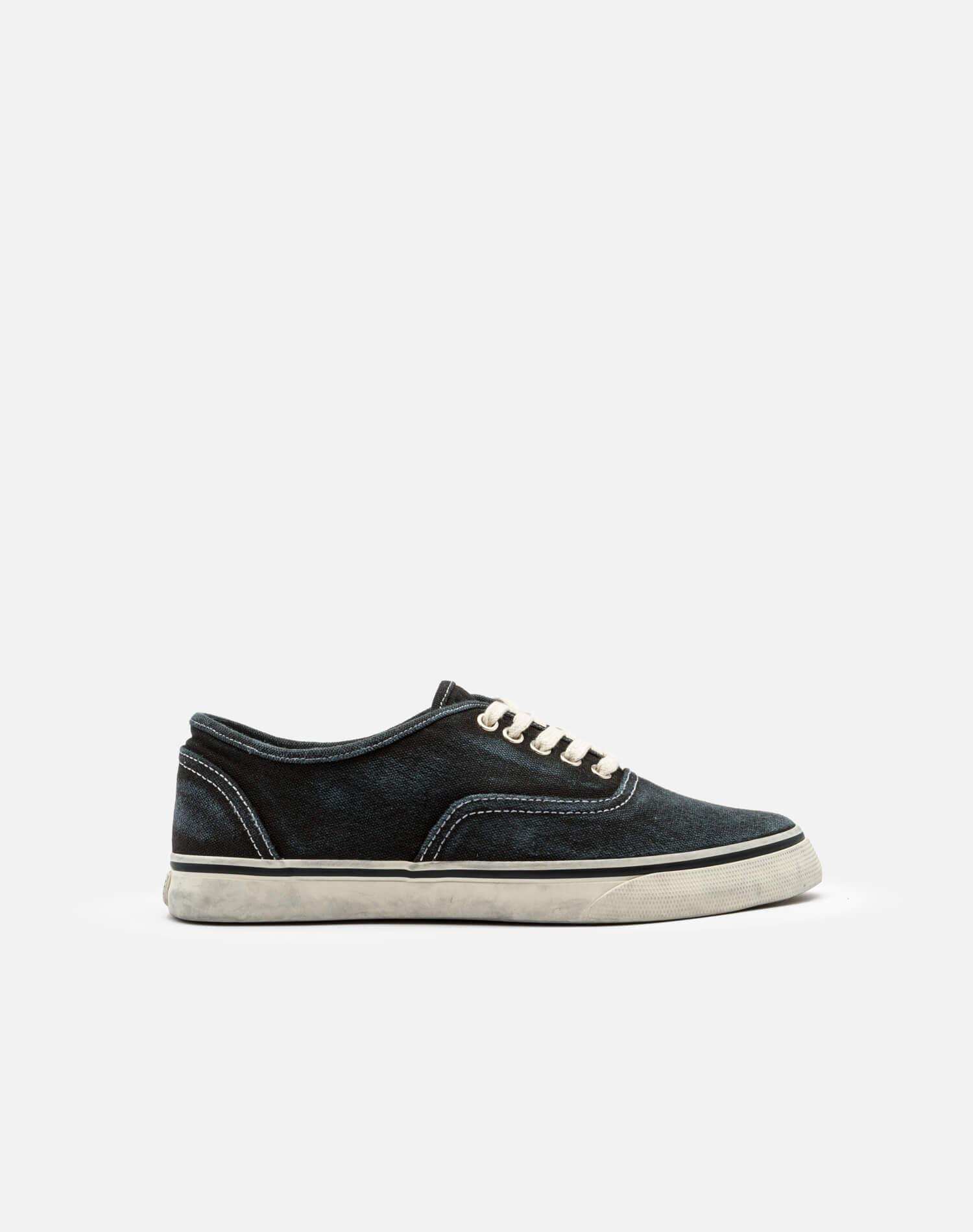 70s Low Top Skate - Faded Black