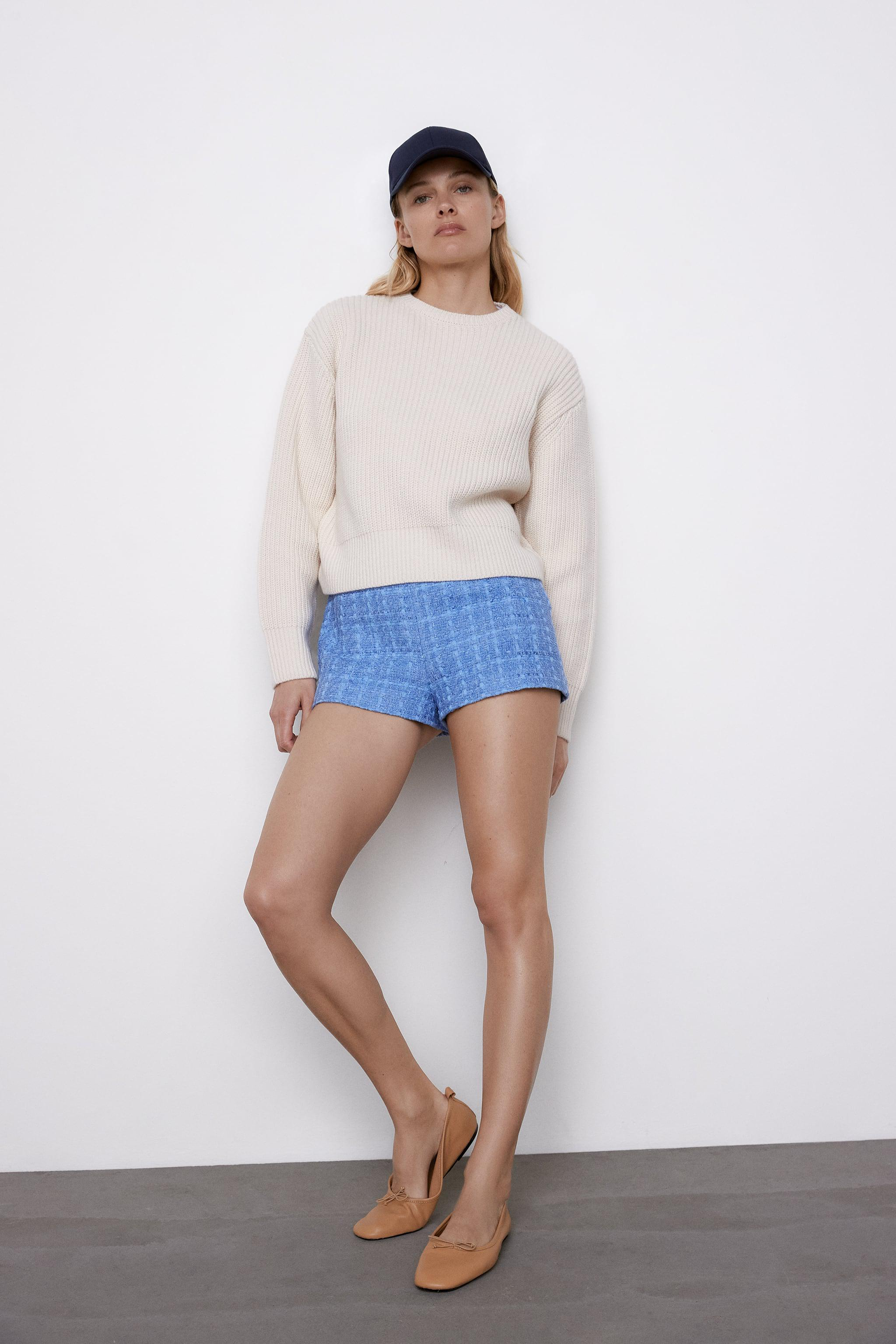 CROPPED LONG SLEEVE SWEATER 3