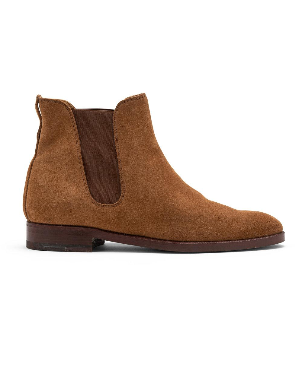 ODPEssentials Classic Chelsea Boot - Tan Suede 2