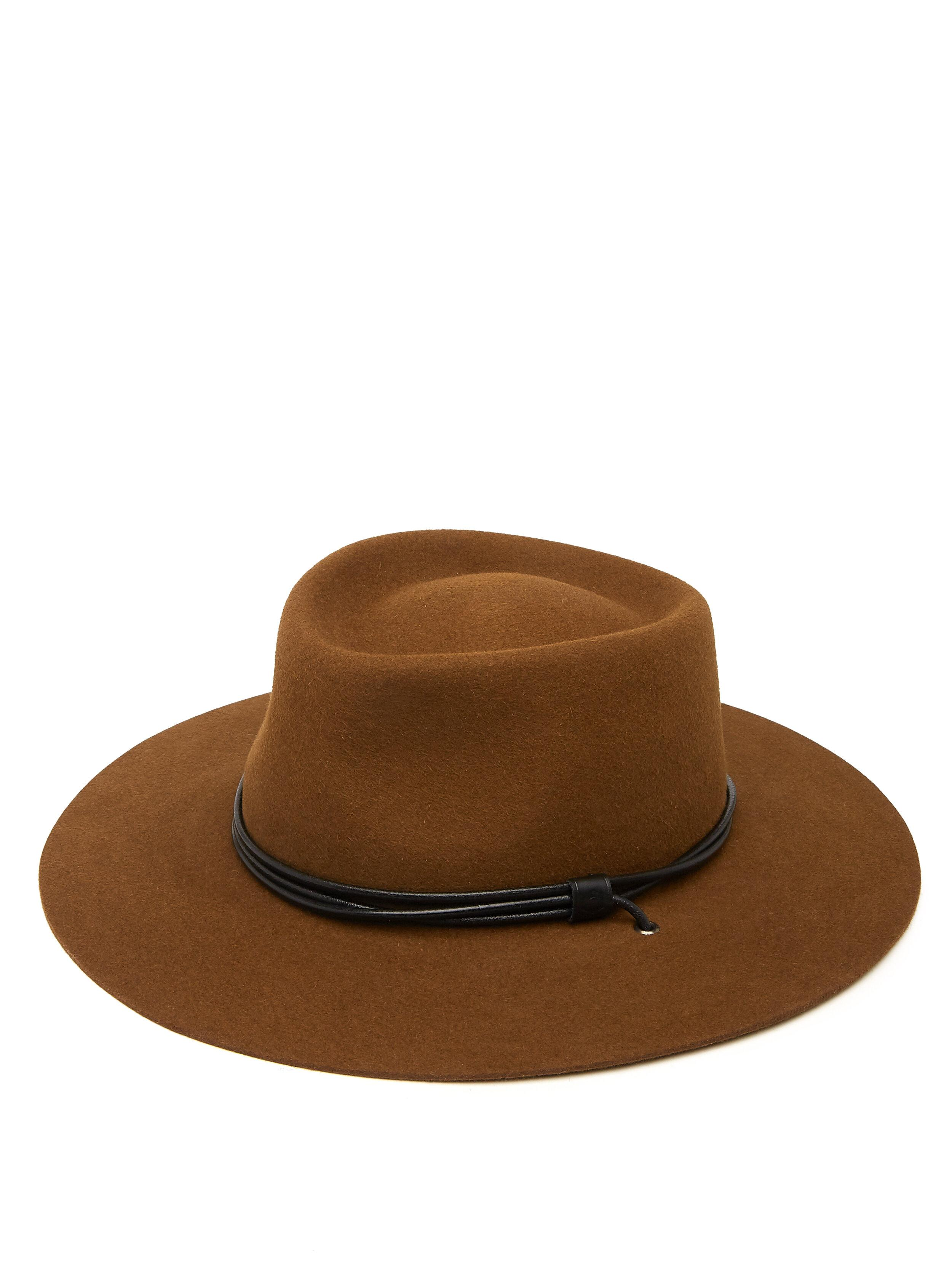 Doria1905 for ODP O'Keeffe Hat - Tobacco