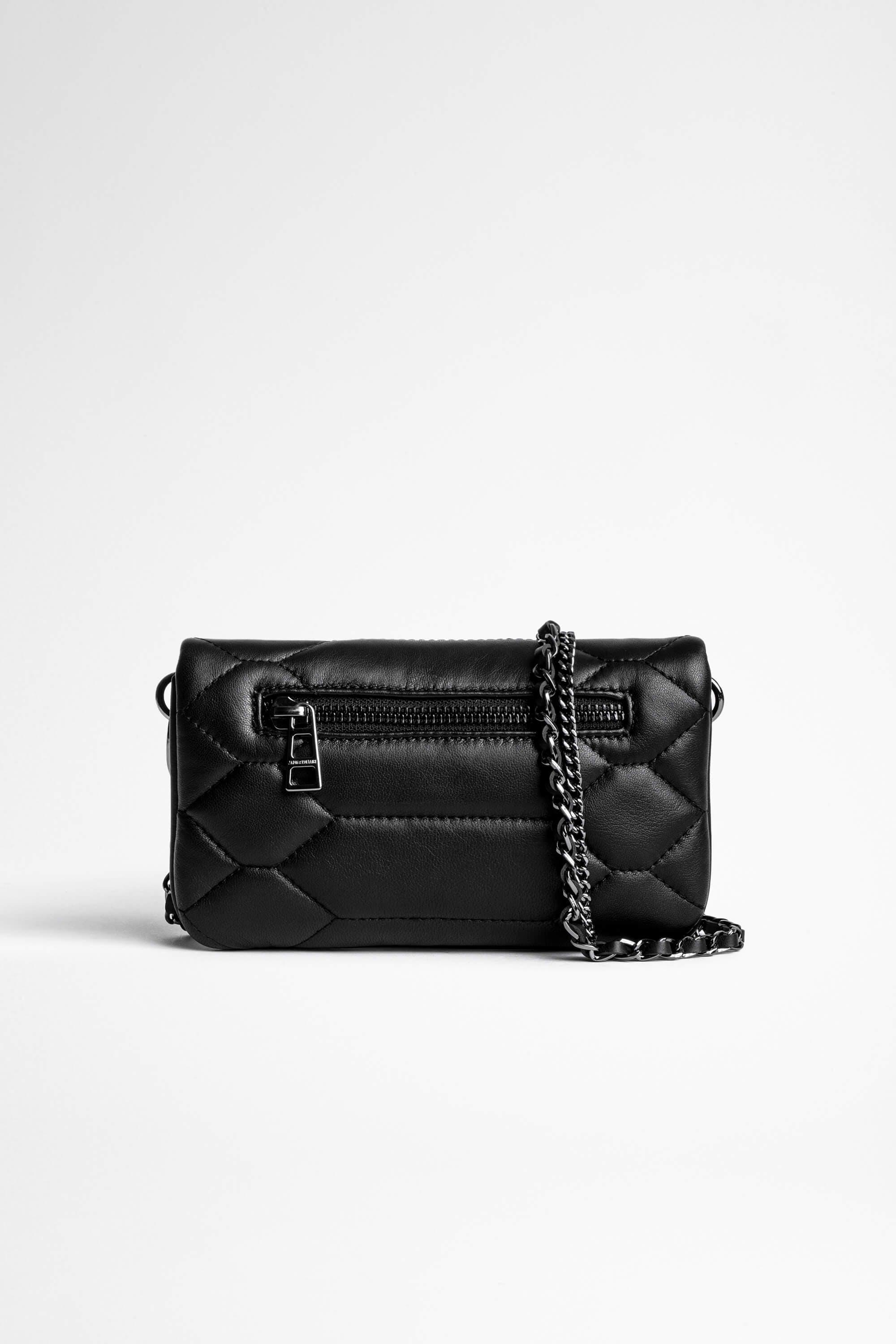 Rock Nano Quilted Leather Clutch 1