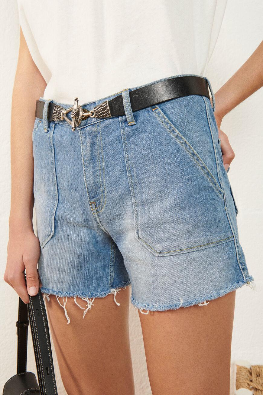 selby.JEANS SHORTS