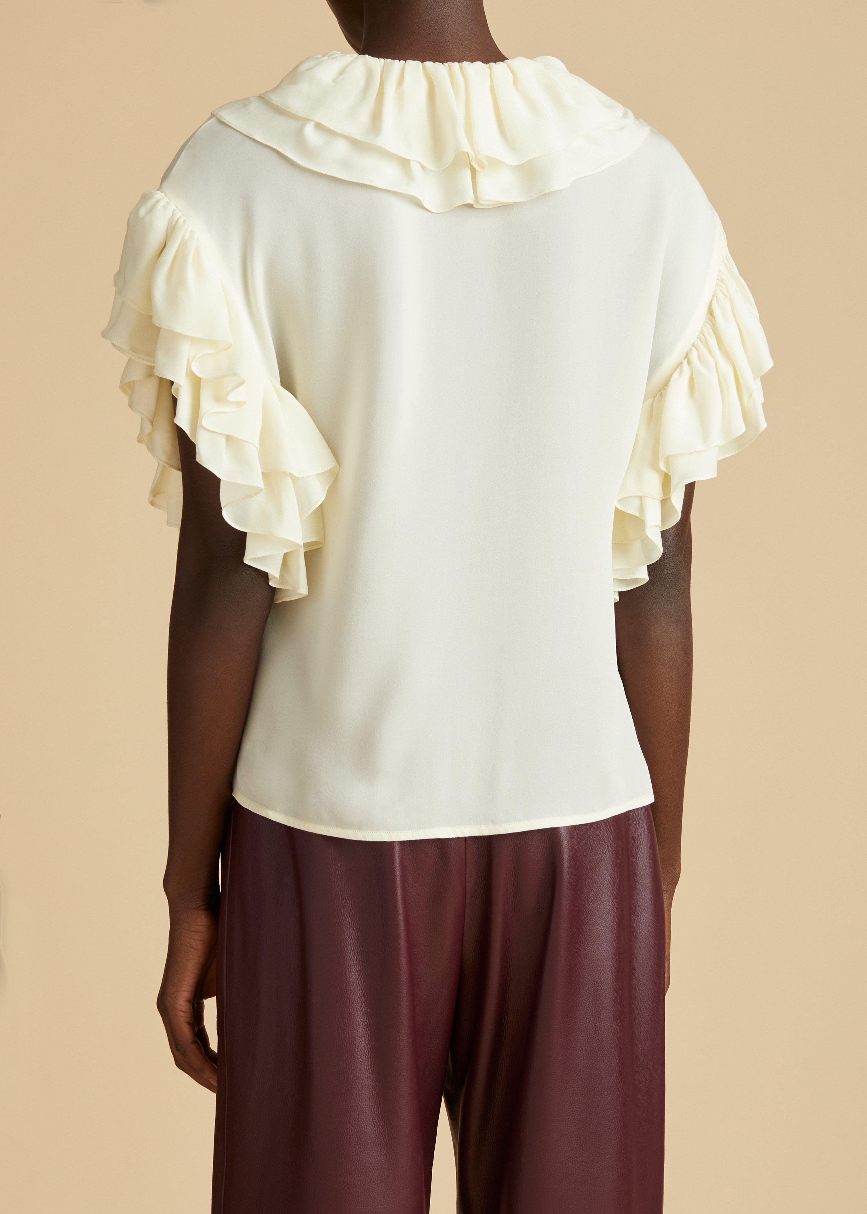 The Dee Top in Ivory 4