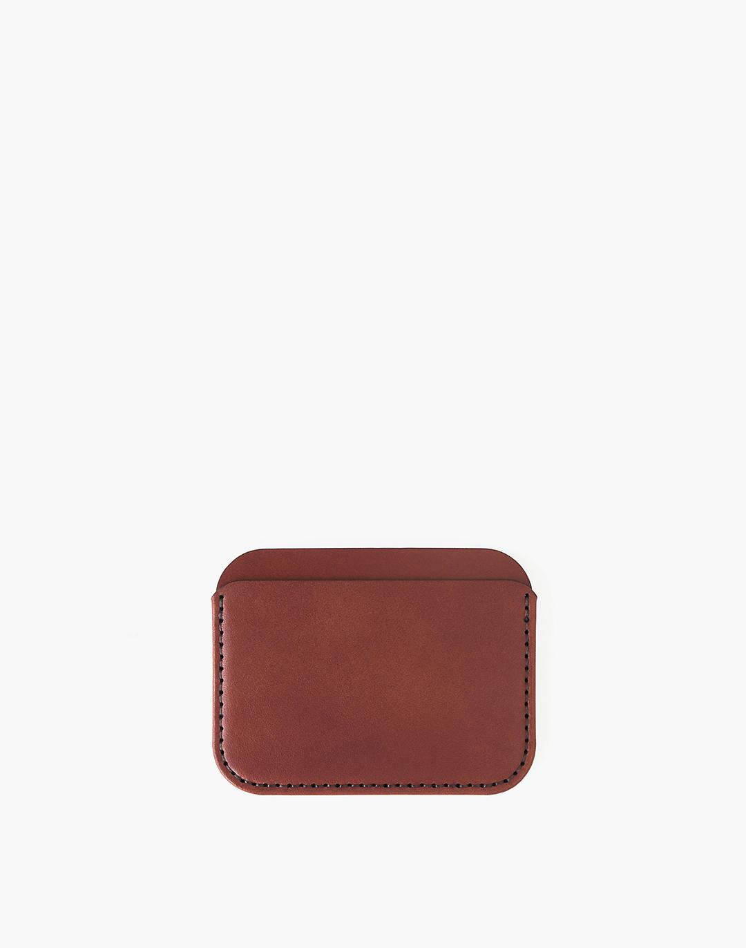 MAKR Leather Round Luxe Wallet