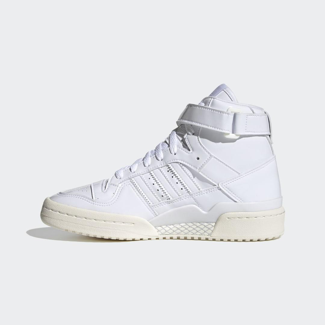 Forum 84 High Shoes White 7
