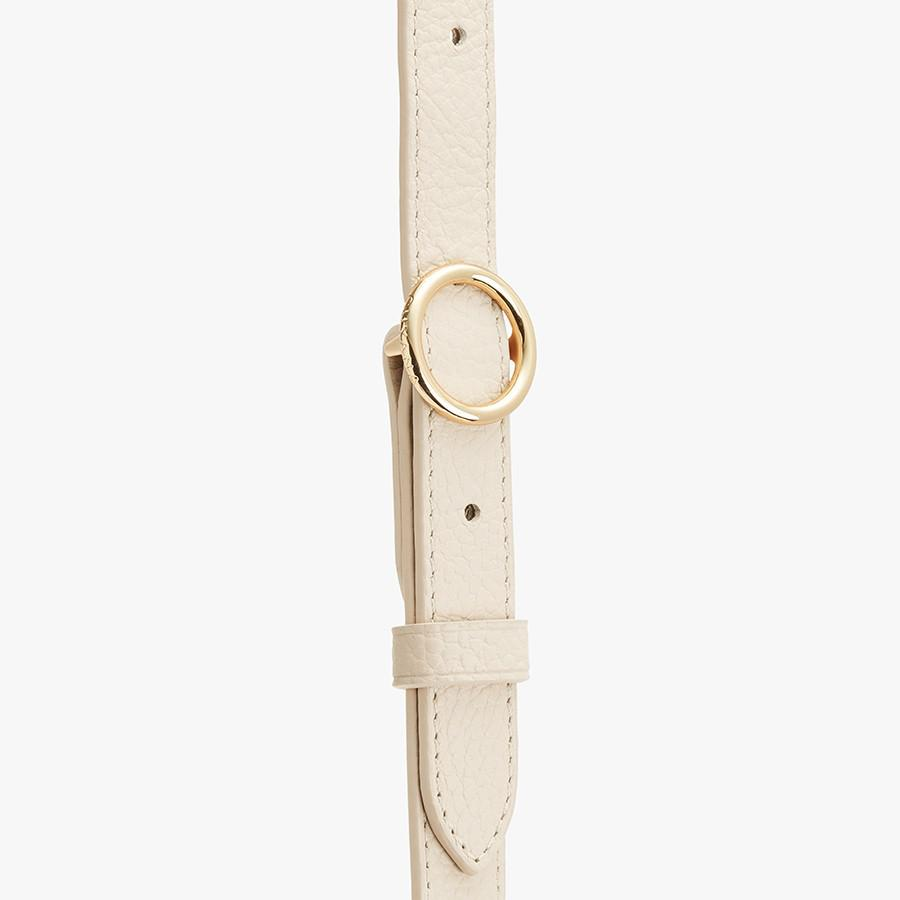 Women's Adjustable Strap in Ecru   Pebbled Leather by Cuyana 2