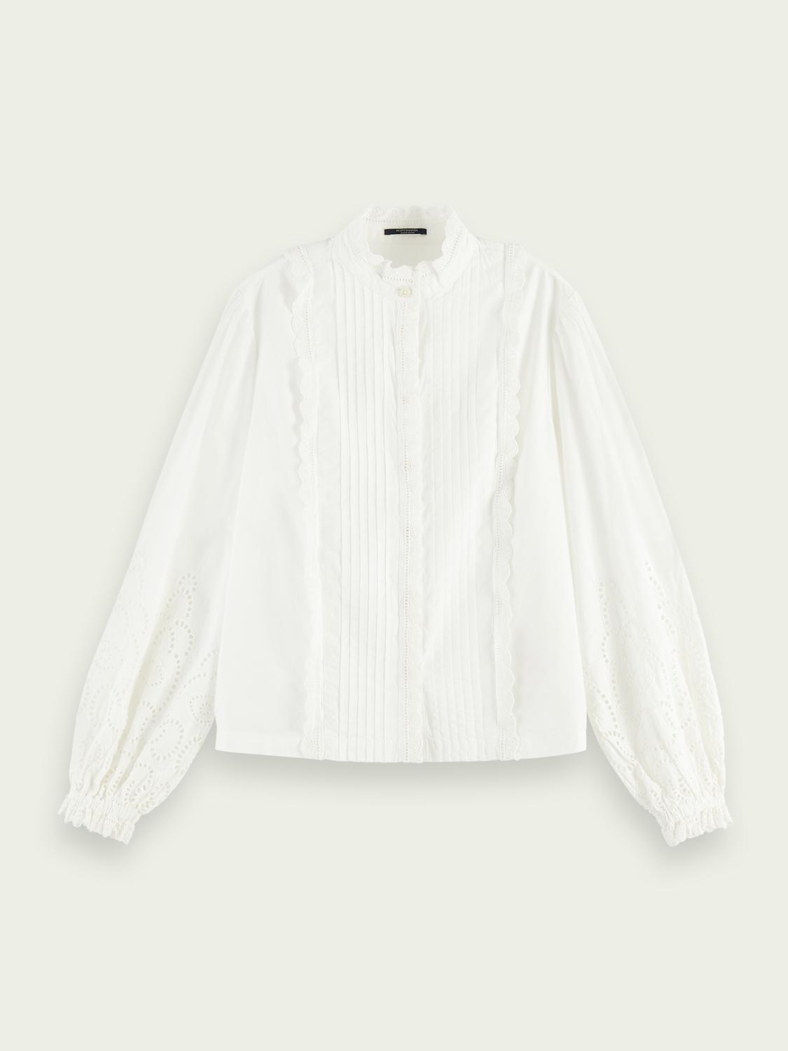 Broderie anglaise detail top 5