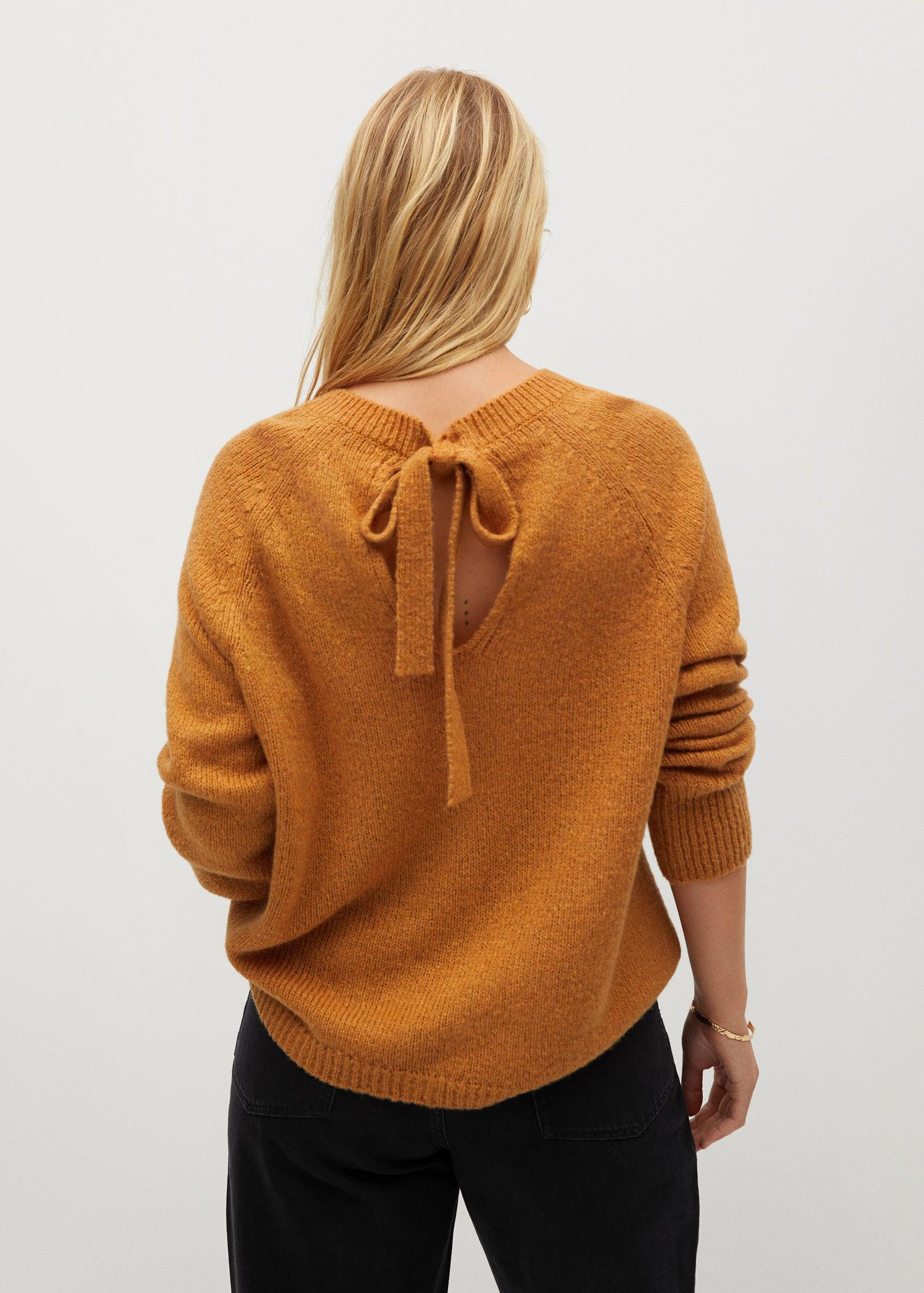 Back bow sweater 2