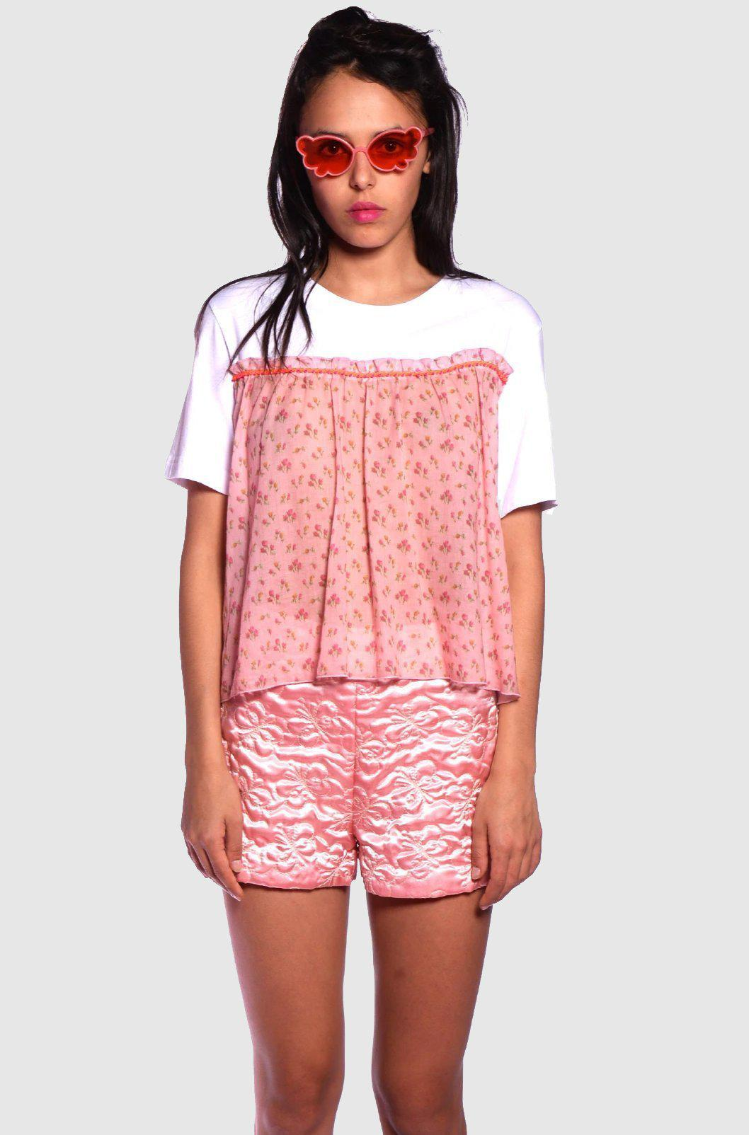 Quilted Butterflies Shorts
