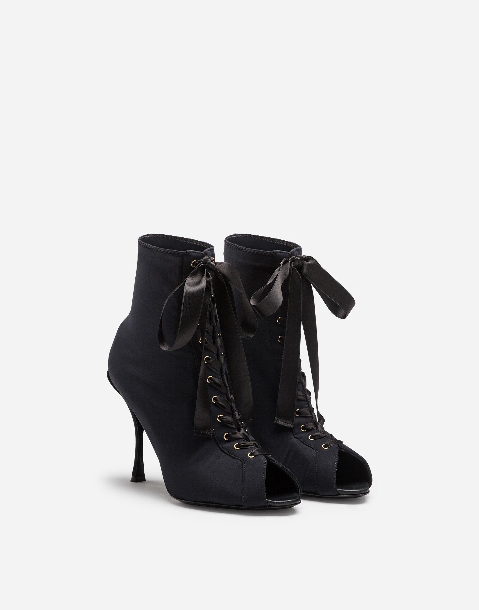 Stretch jersey booties 1