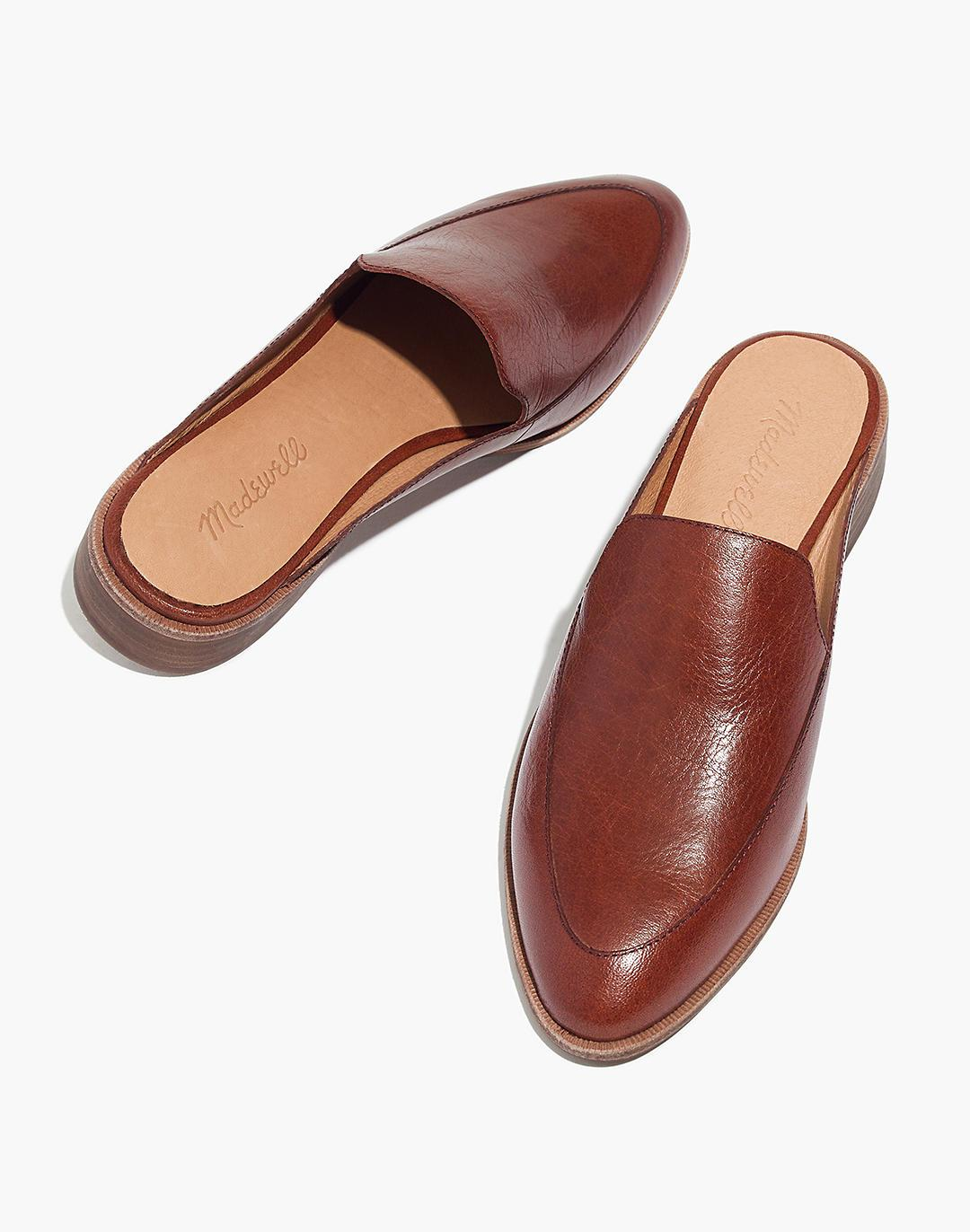 The Frances Loafer Mule in Leather