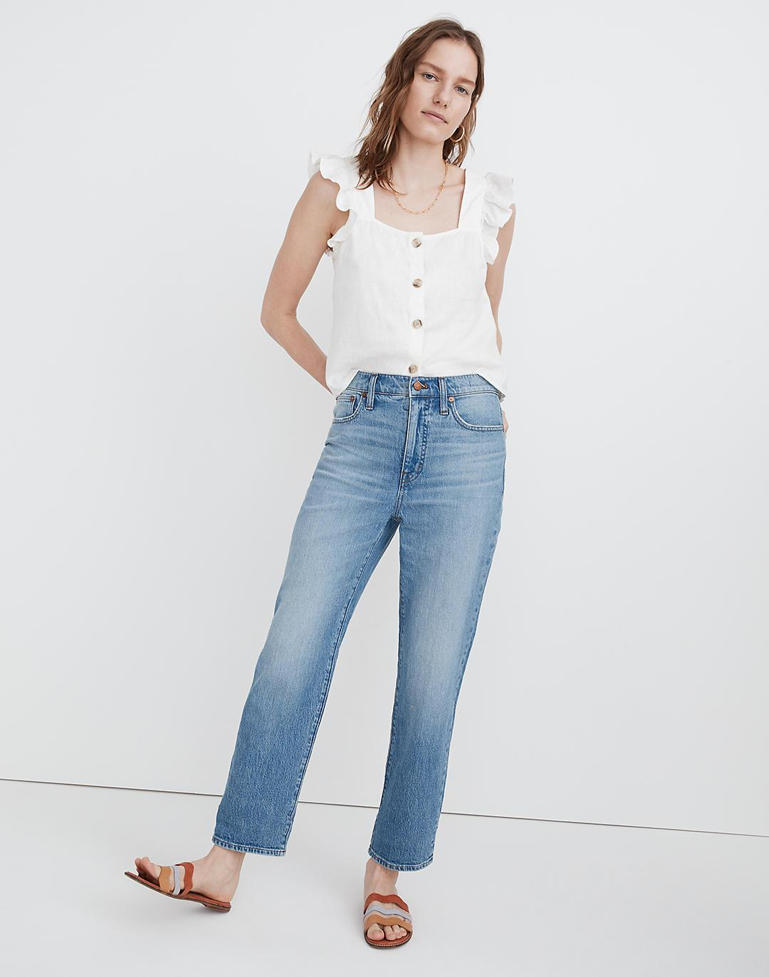 Tall Relaxed Jeans in Springtide Wash