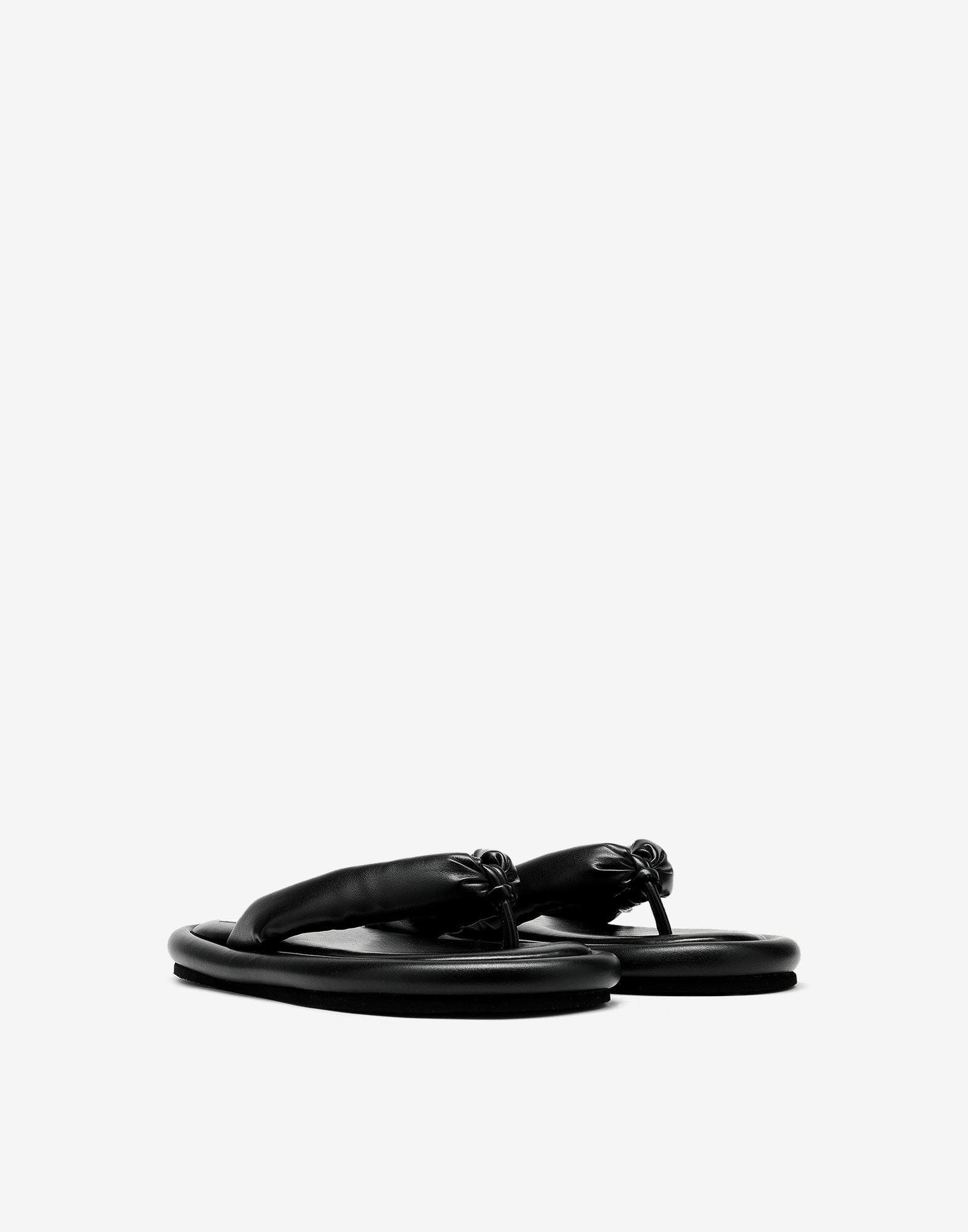 Padded sandals 1