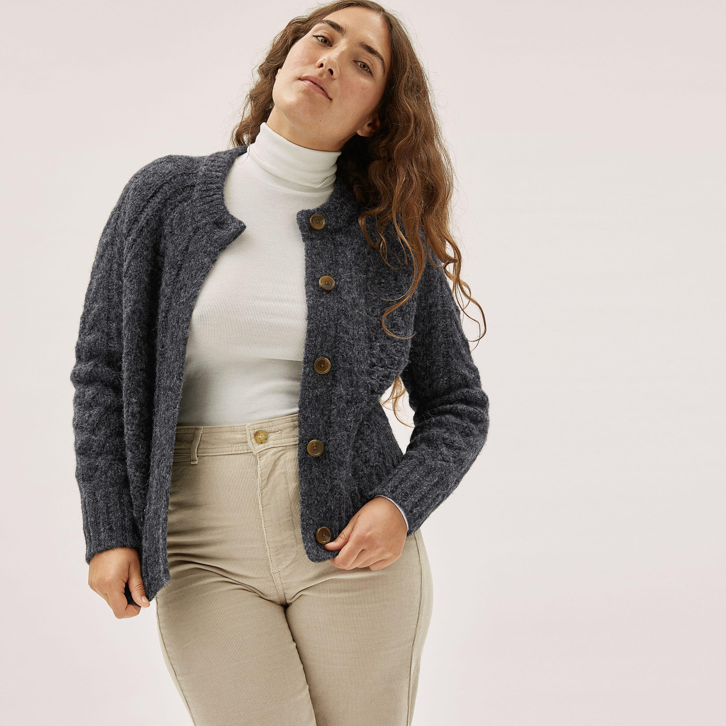 The Cloud Cable Cardigan