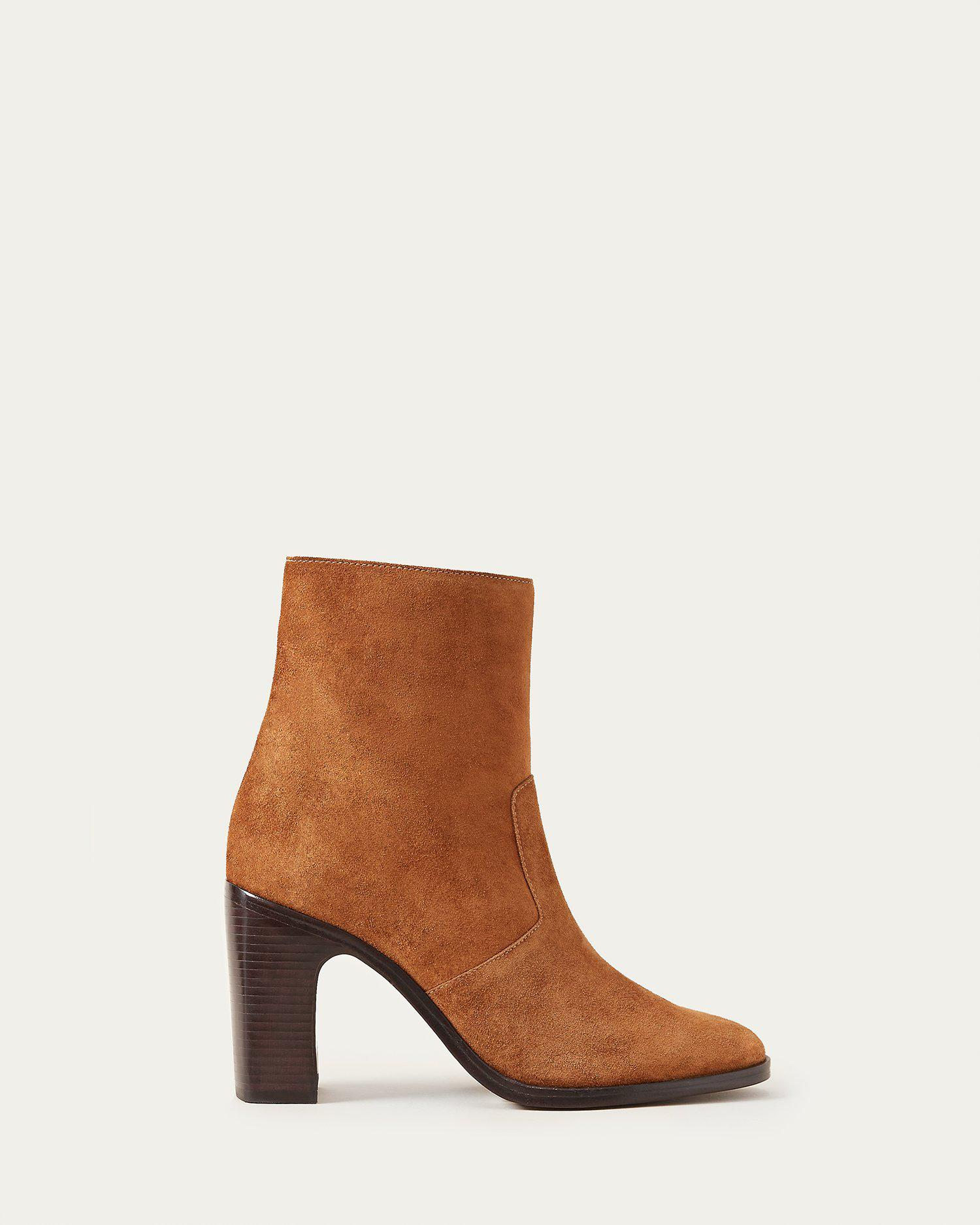 Blair Cacao Ankle Bootie 1