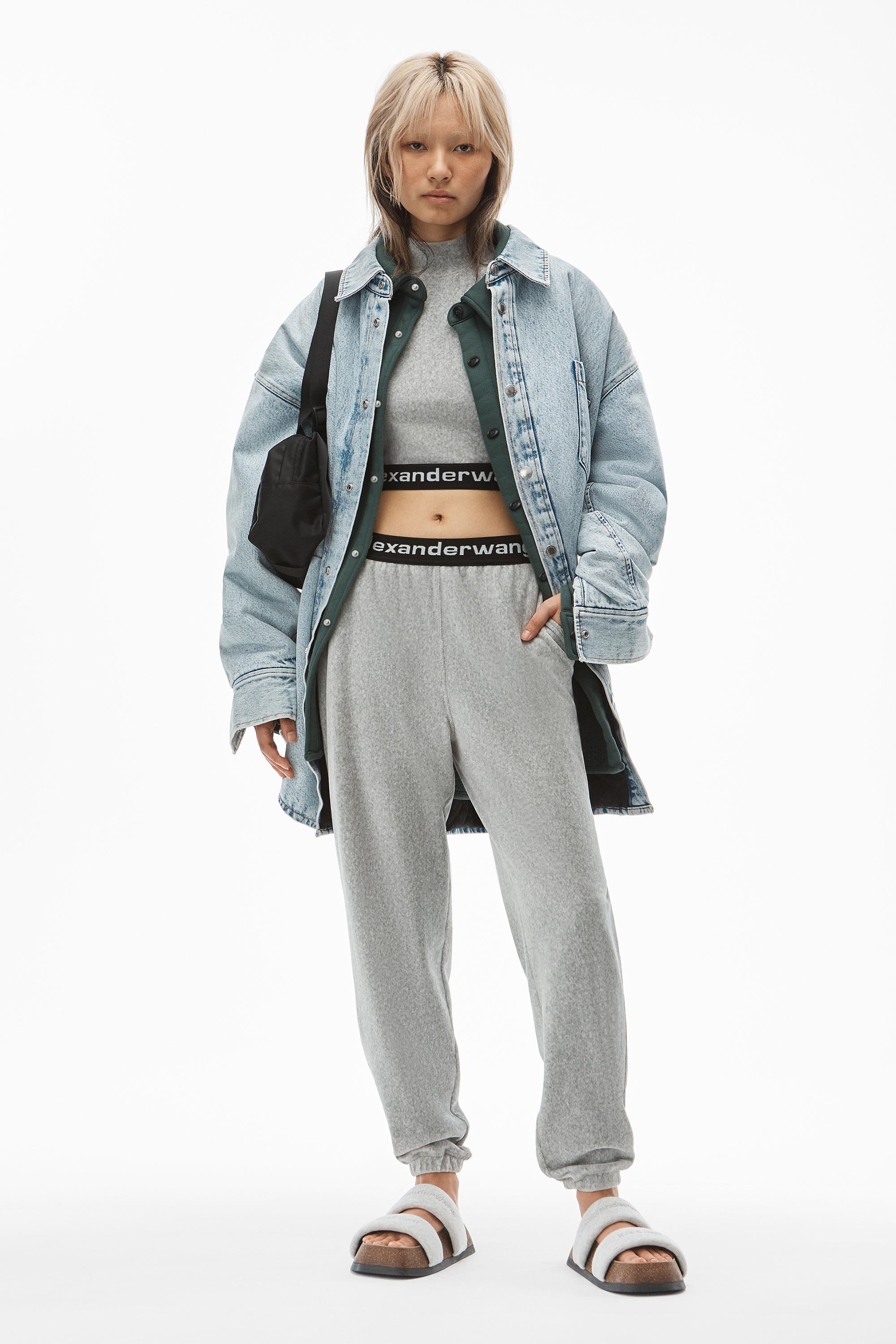 jogger pant in stretch corduroy