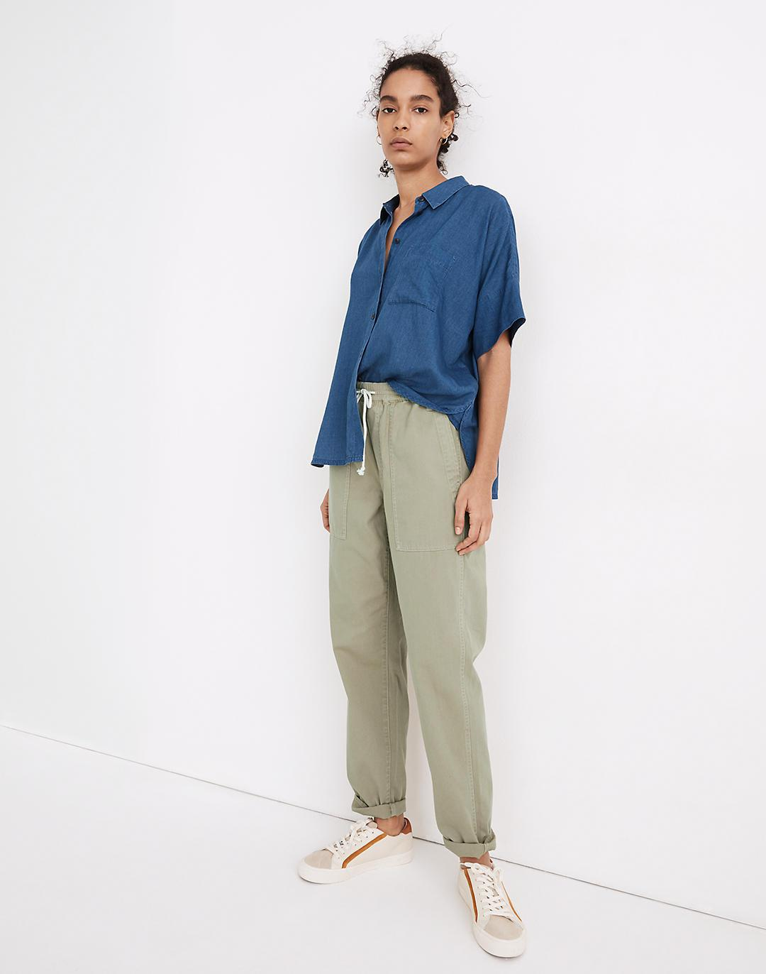 Pull-On Relaxed Pants