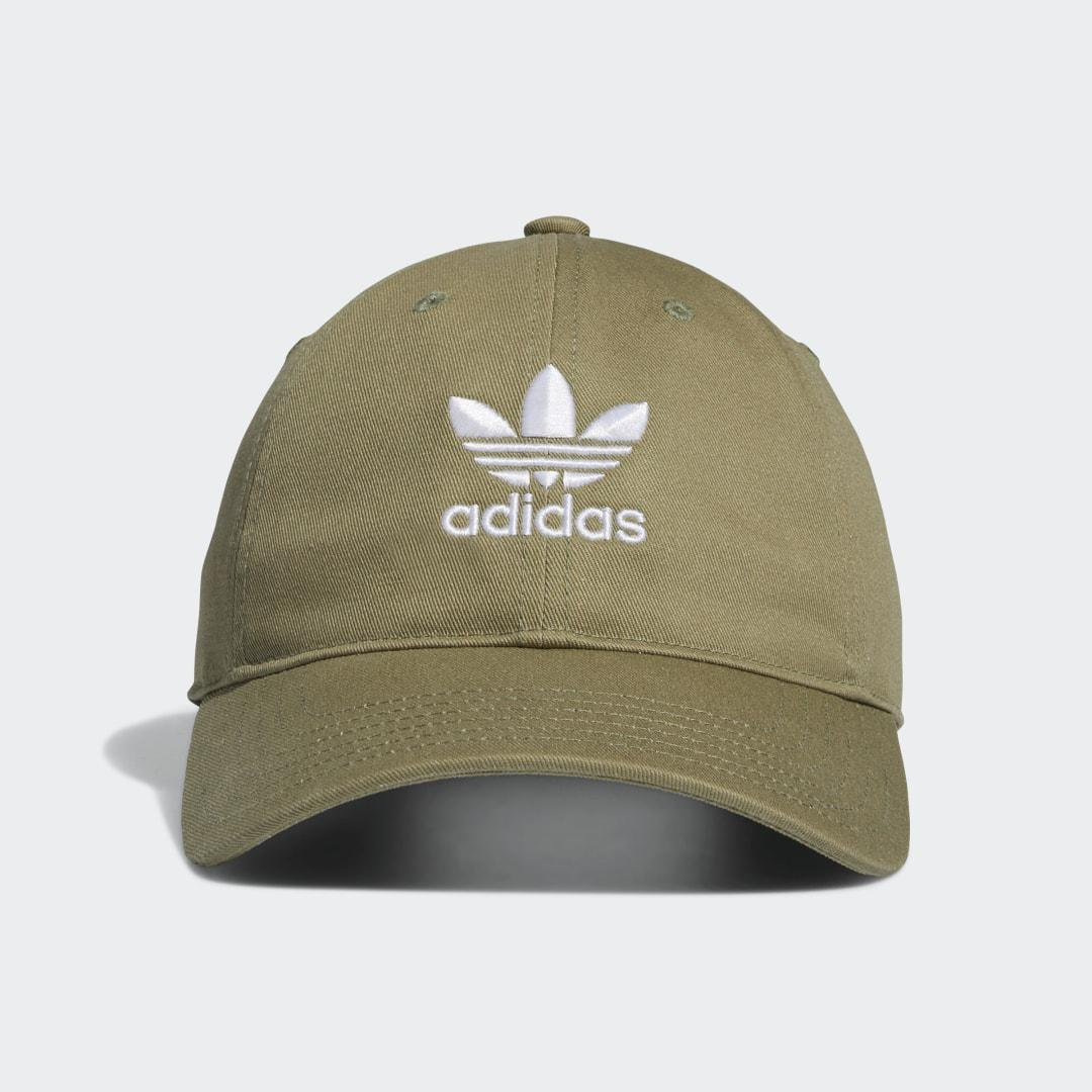 Relaxed Strap-Back Hat Green - Originals Hats