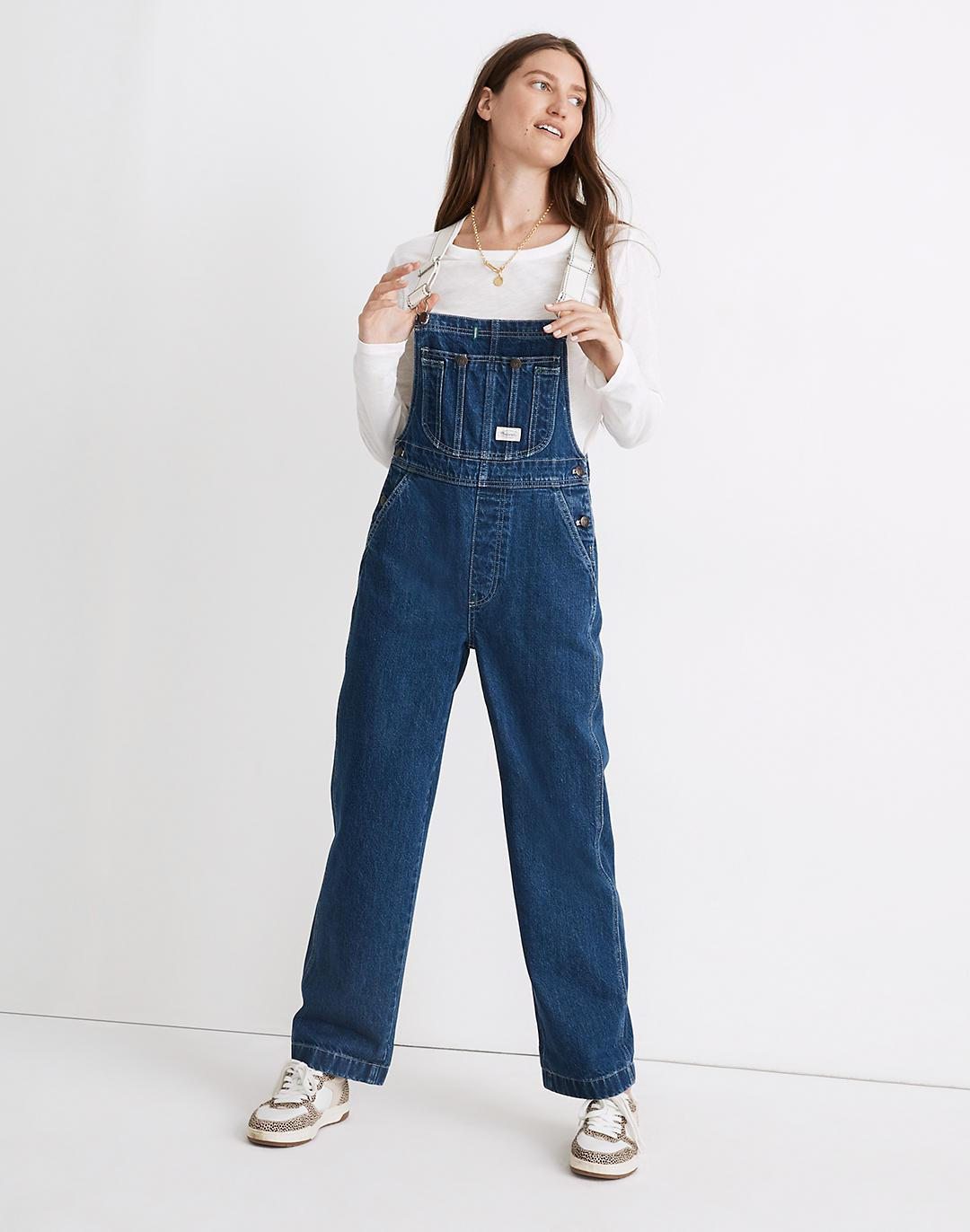 Workwear Collection Denim Oversized Overalls
