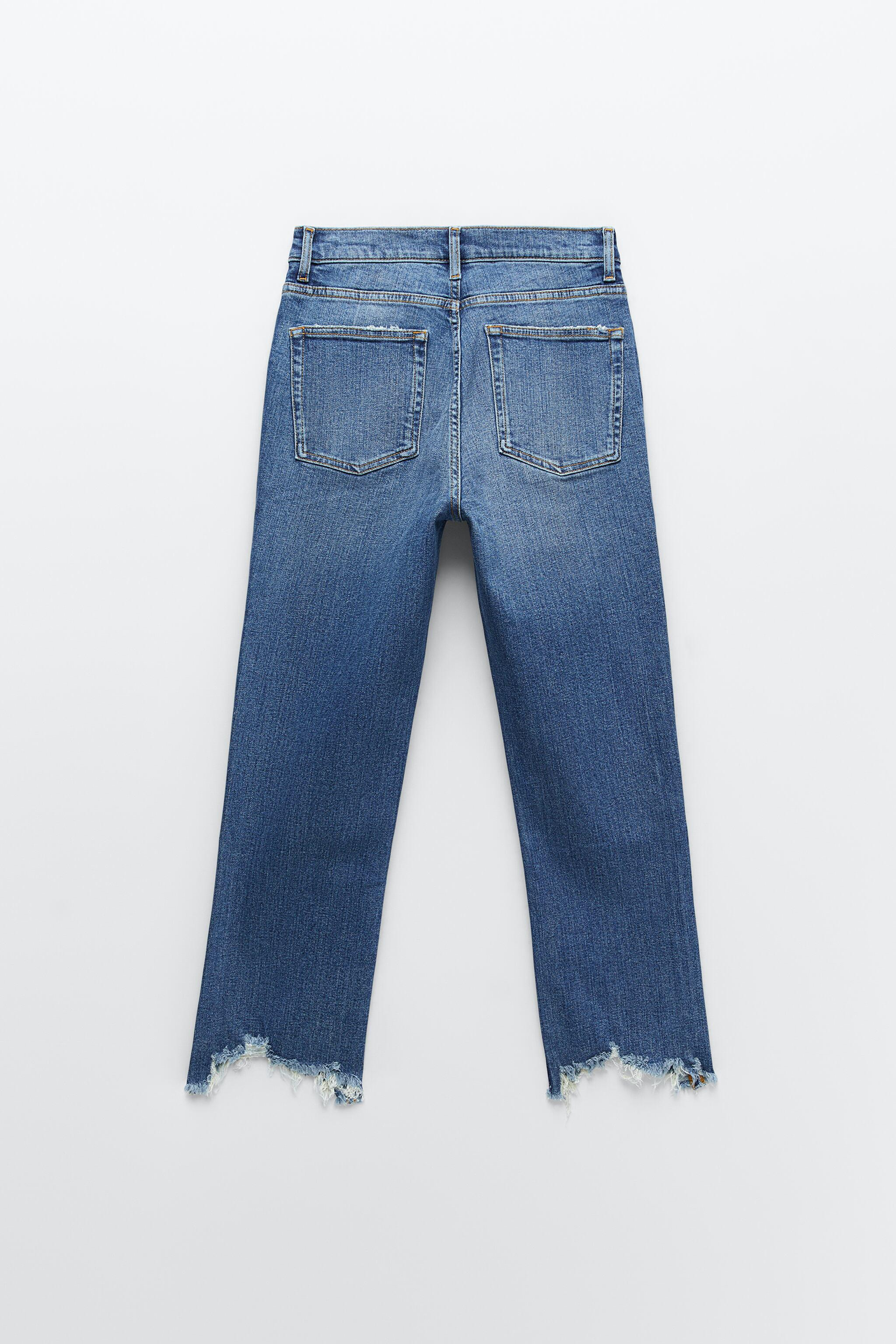 ZW THE BOOTCUT CROPPED JEANS 6
