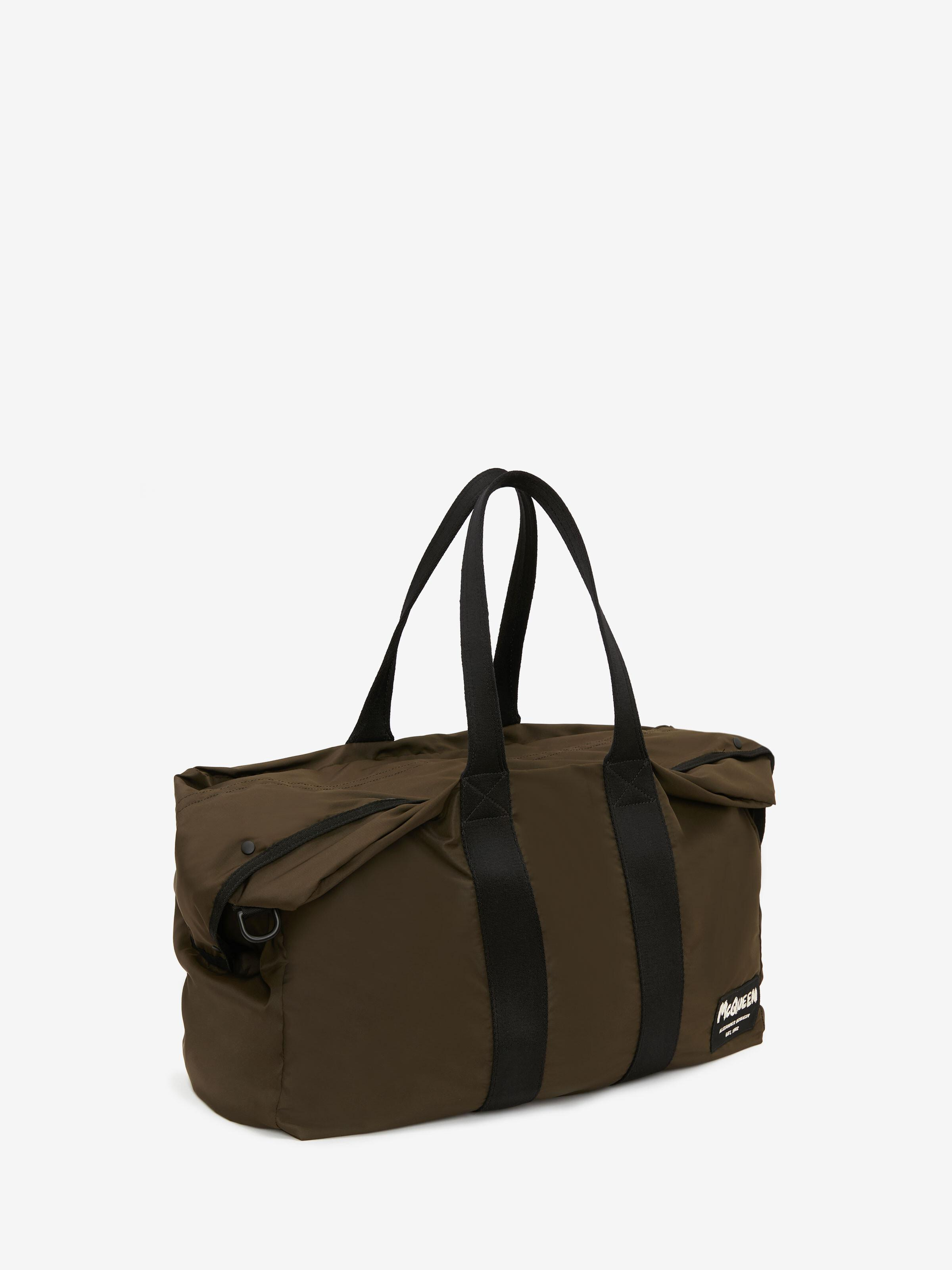 McQueen Tag Zipped Tote 1