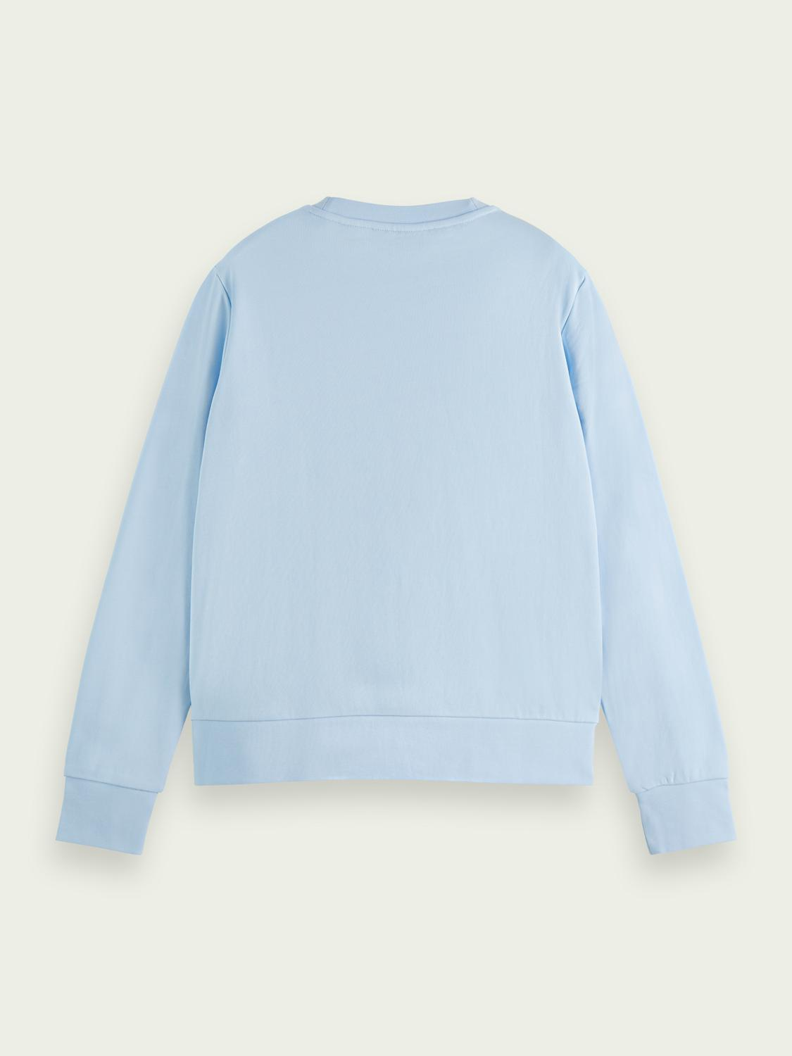 Regular-fit embroidered sweater 1