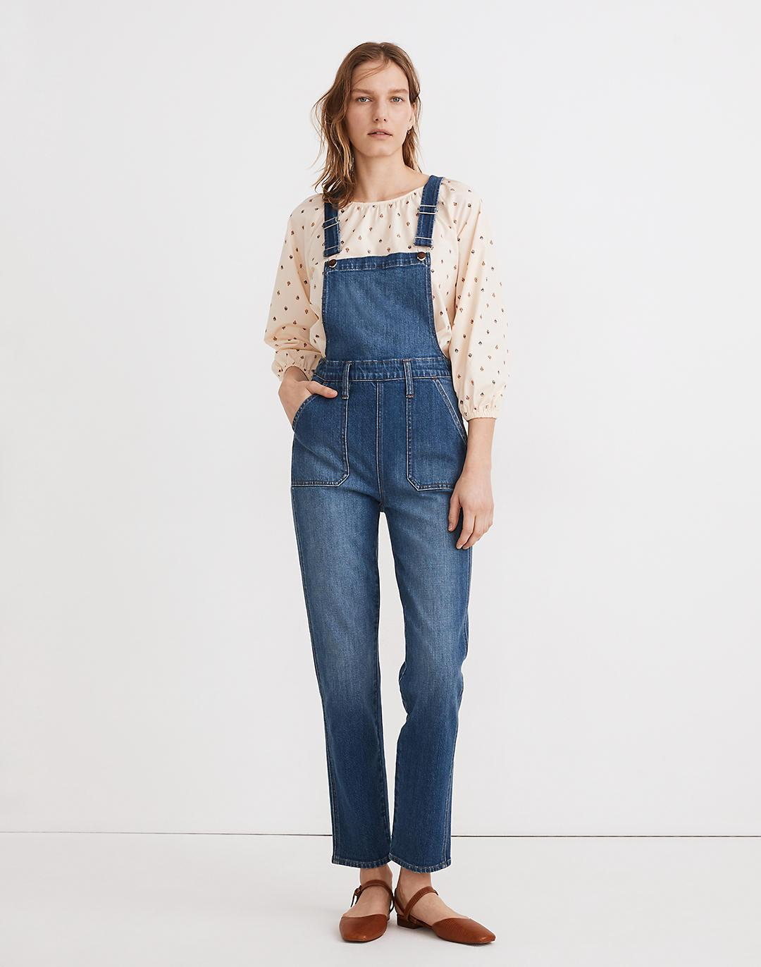 Stovepipe Overalls in Cosman Wash