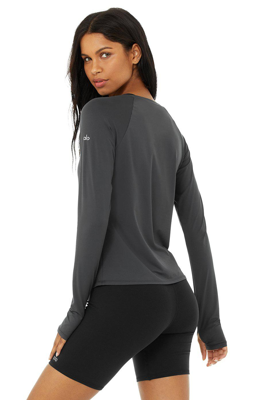 Pulse Long Sleeve - Anthracite 2