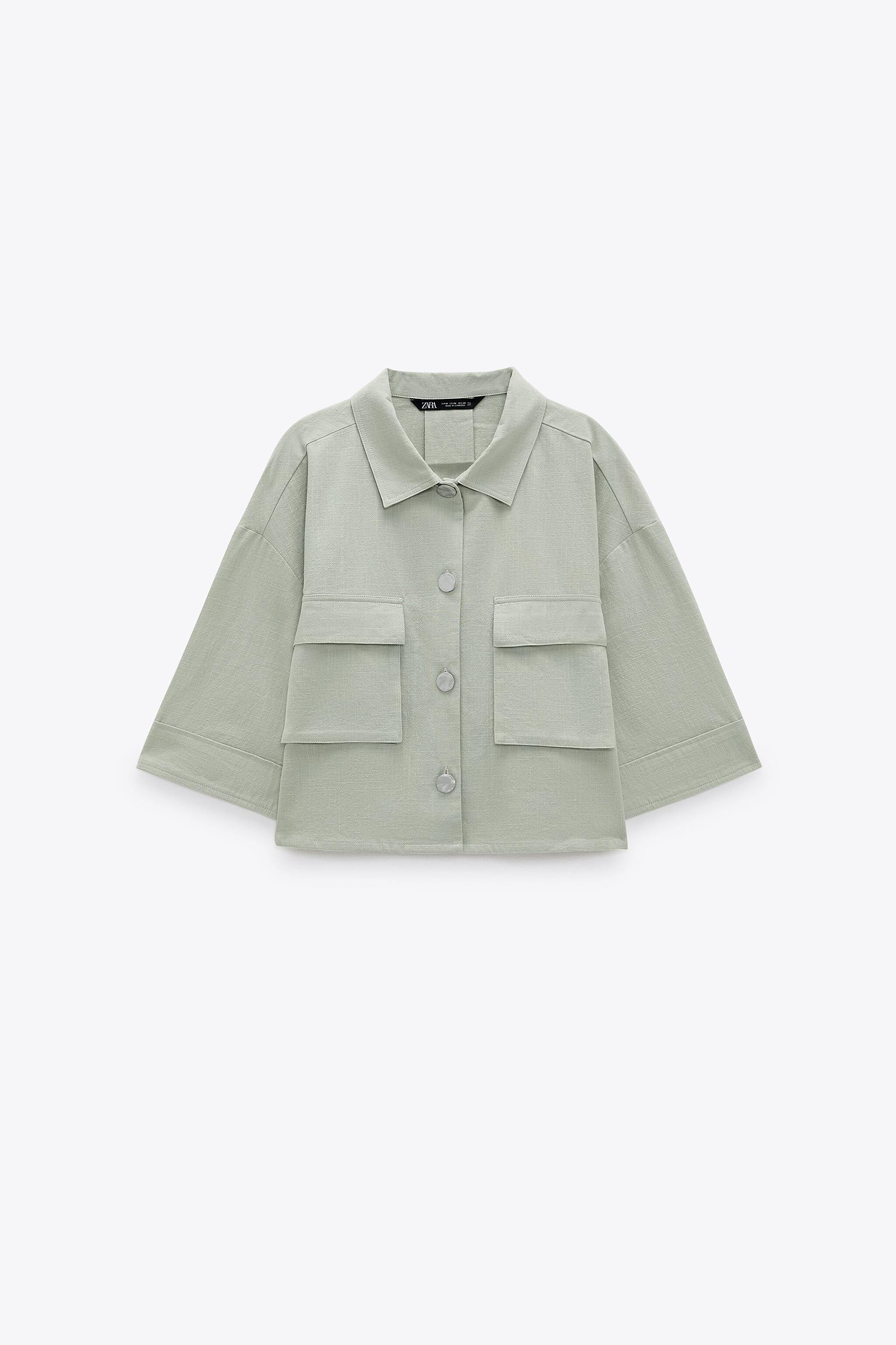 RUSTIC CROPPED SHIRT 4