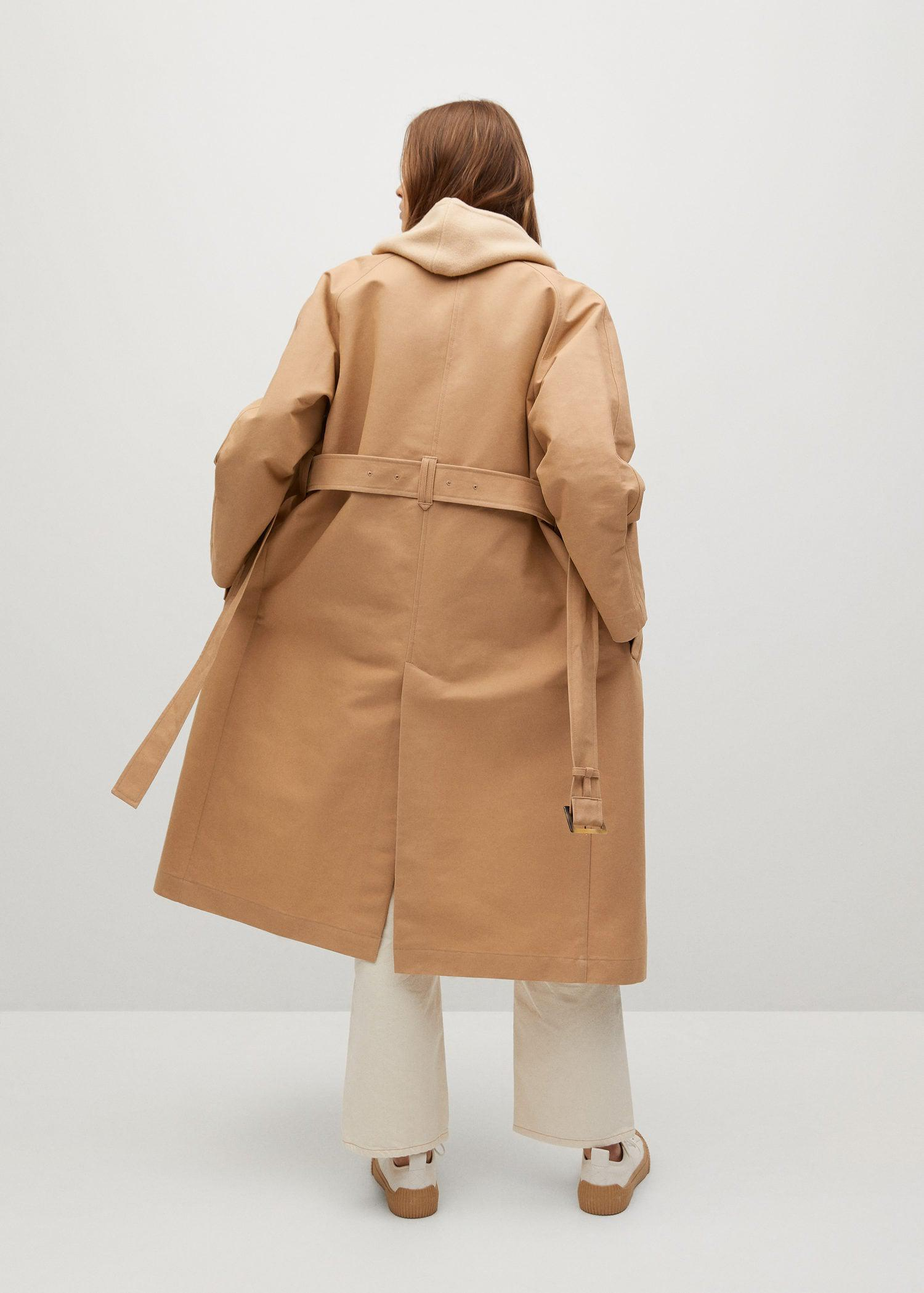 Water-repellent cotton trench 2