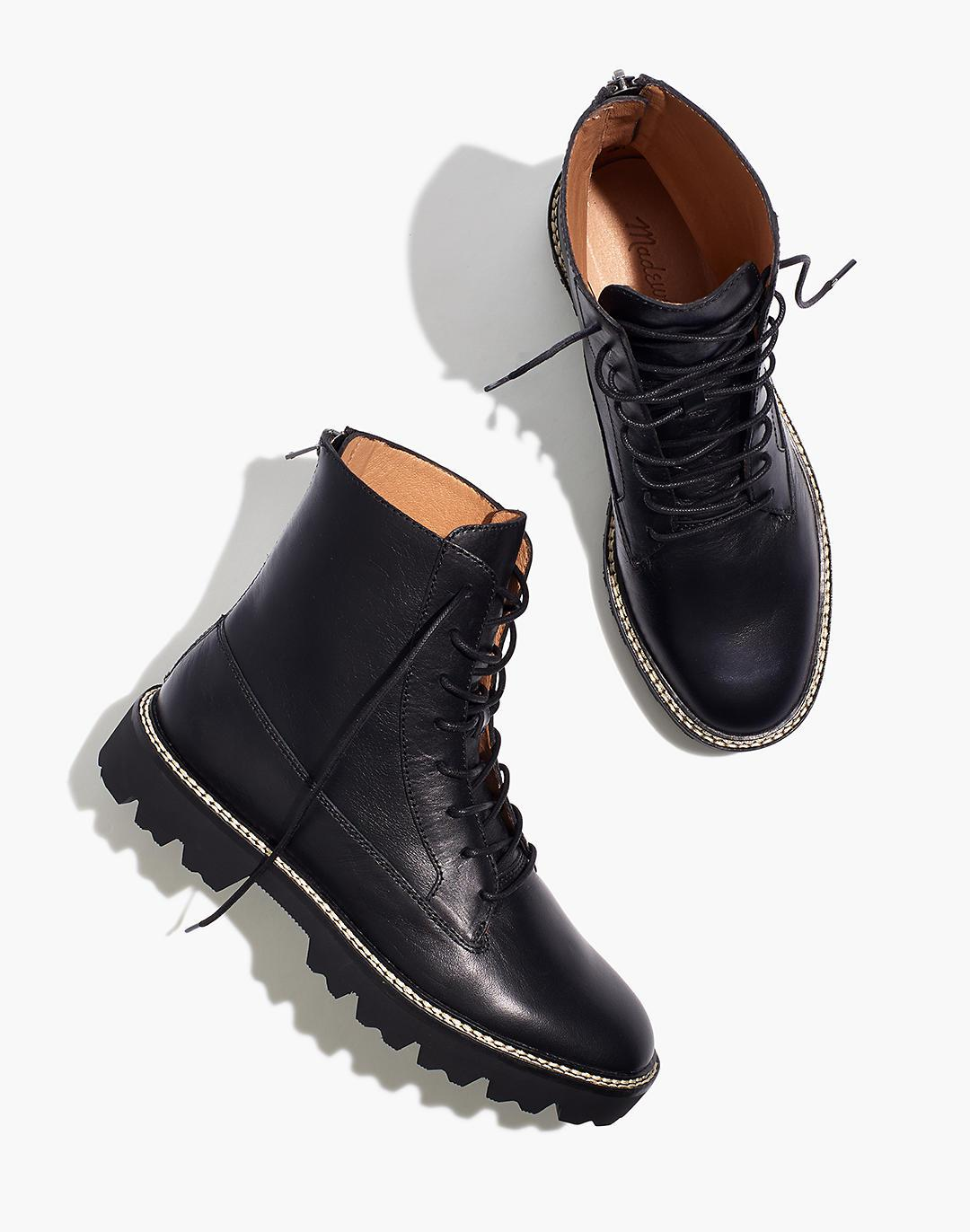 The Citywalk Lugsole Lace-Up Boot in Leather