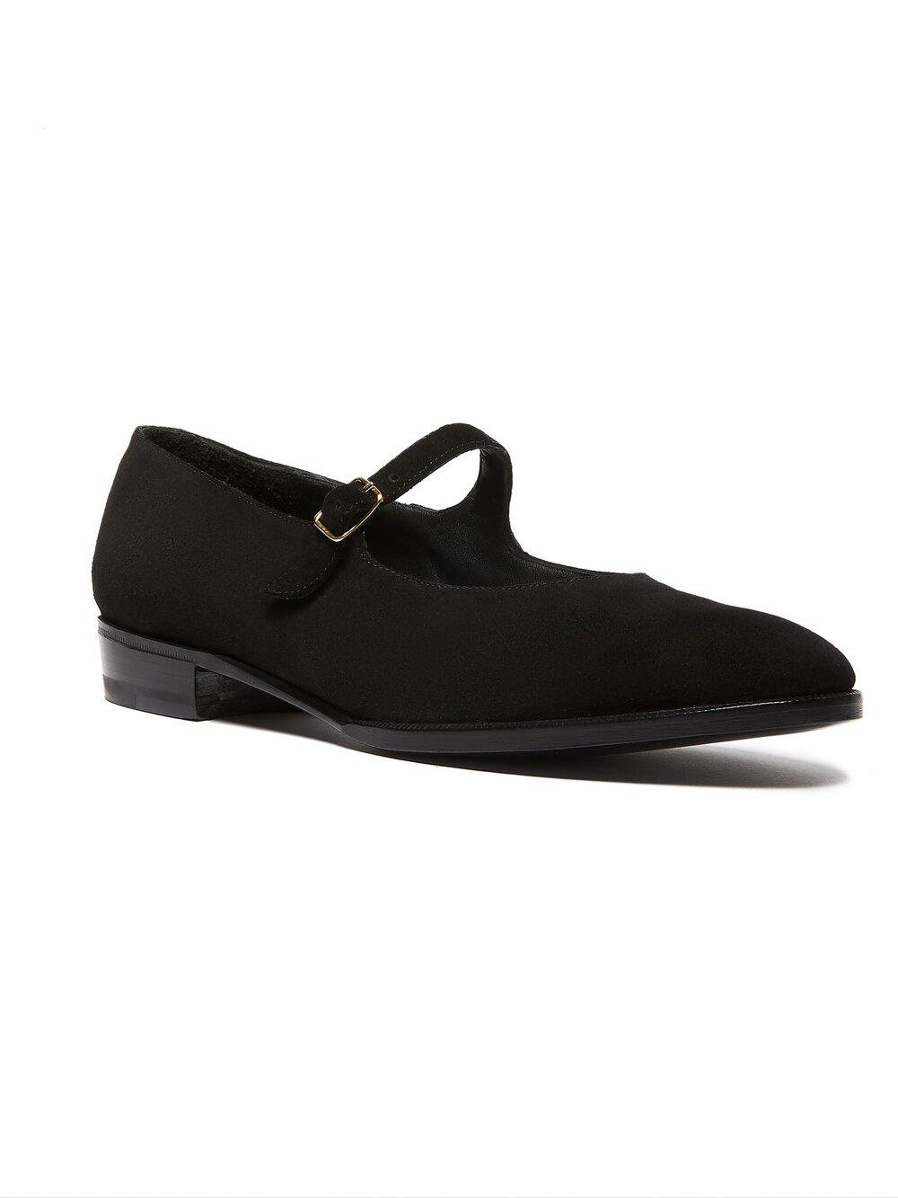 ODPEssentials Classic Mary Jane - Black Suede
