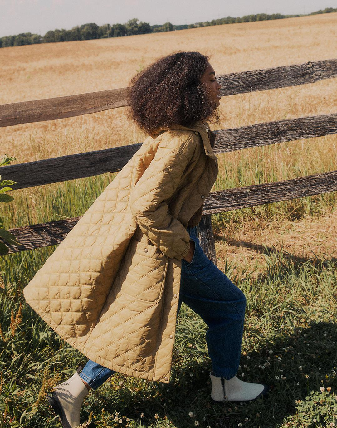 Austwell Quilted Coat