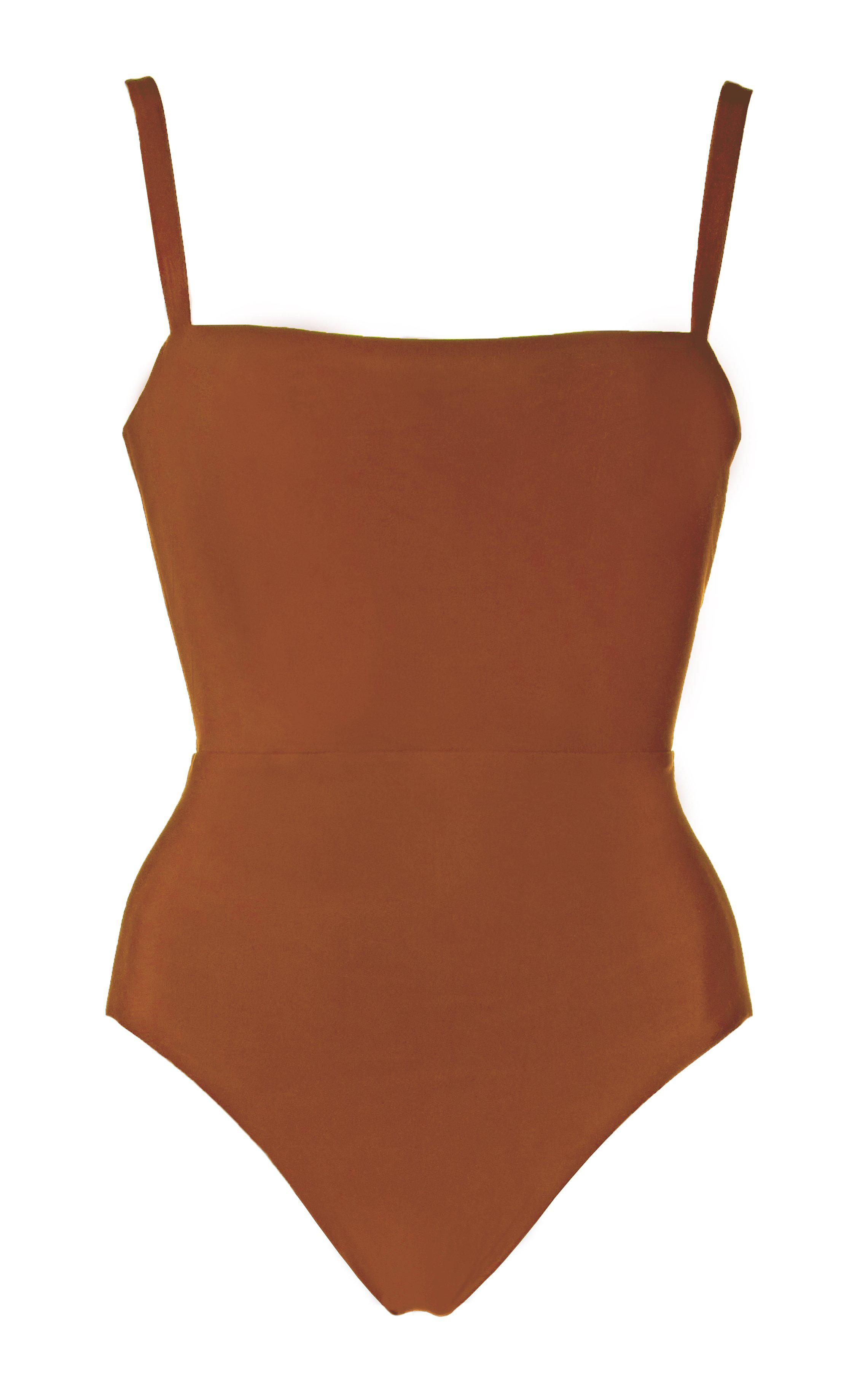 The Square Neck Maillot One Piece