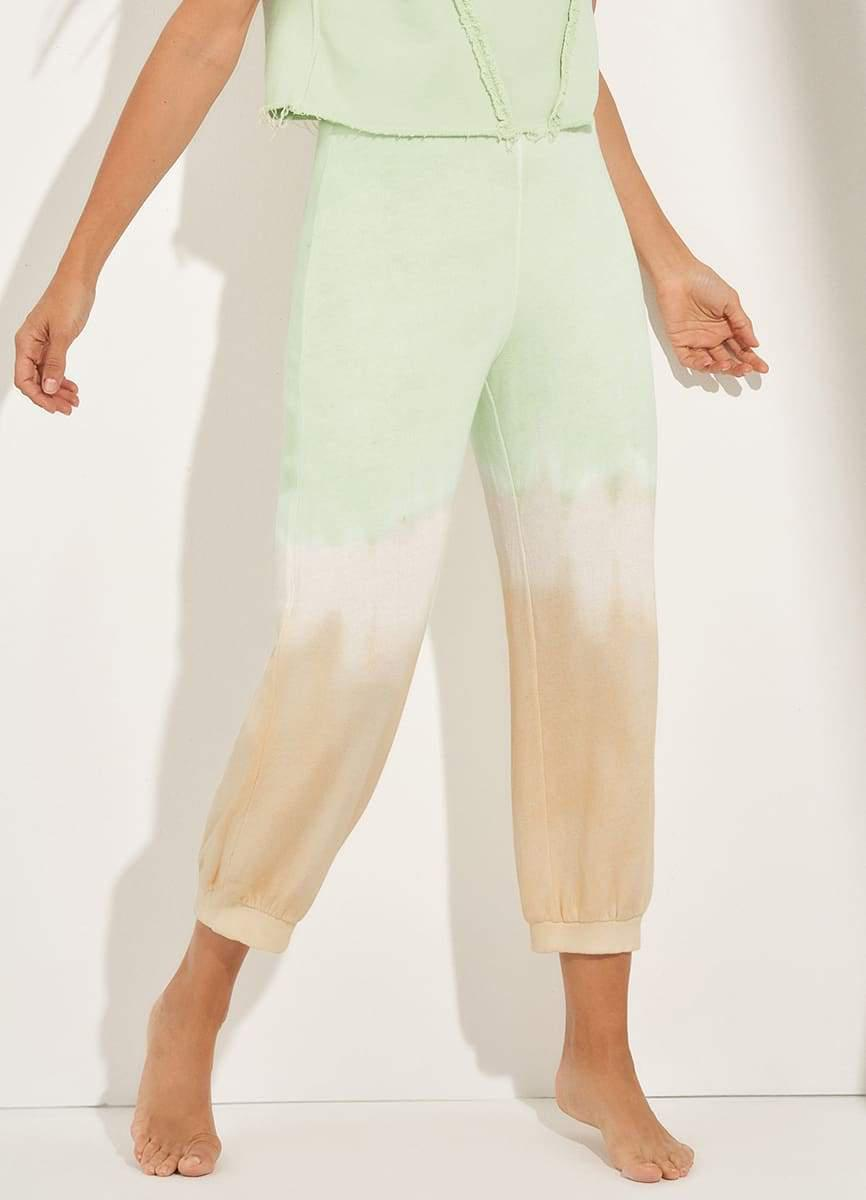 Eager Ombre Mint Light Terry Jogger