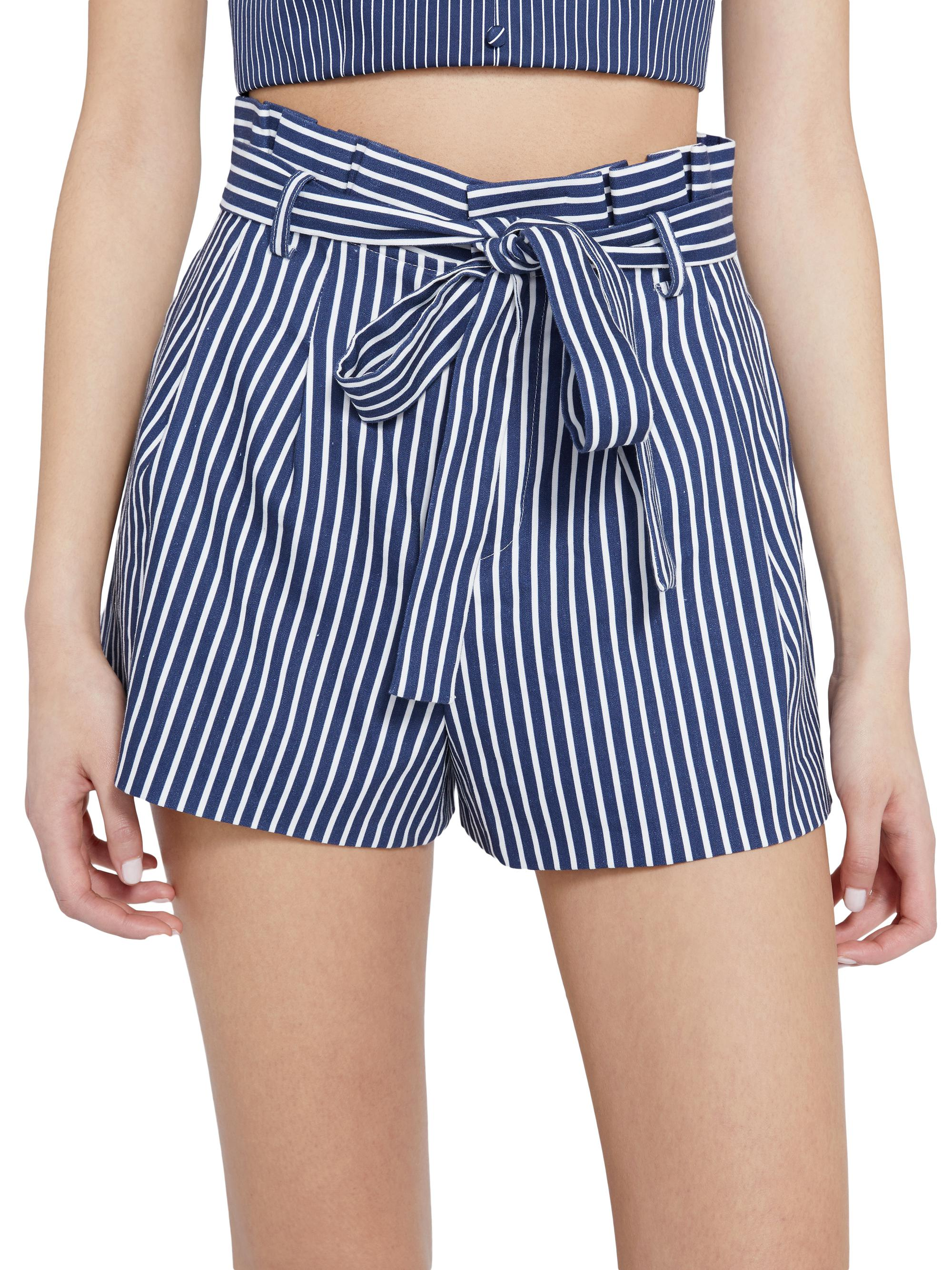 LAURINE PAPER BAG SHORTS