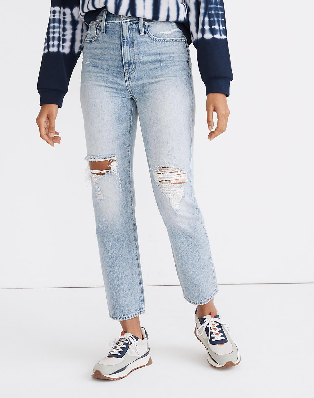 The Perfect Vintage Jean in Calabria Wash: Ripped Edition 3