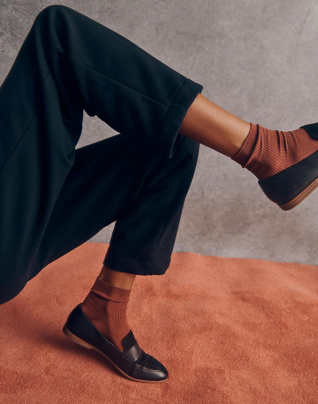 The Alex Loafer in Leather and Suede 4