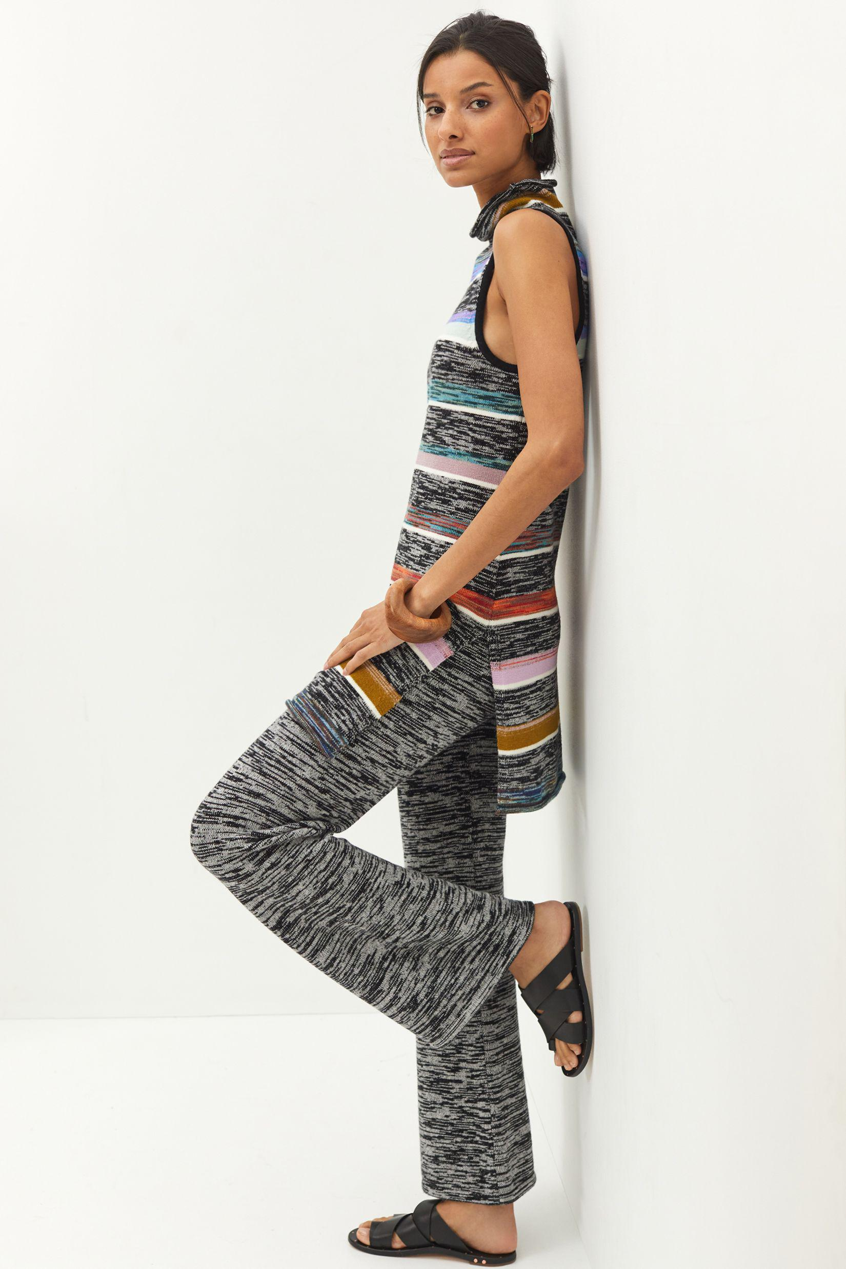 Maeve Space-Dyed Knit Pant Set