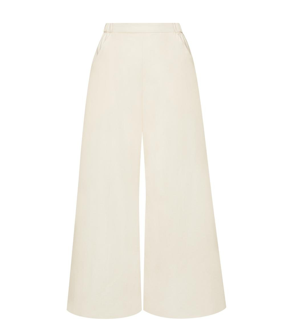 The Twill Wide Leg Pant 3