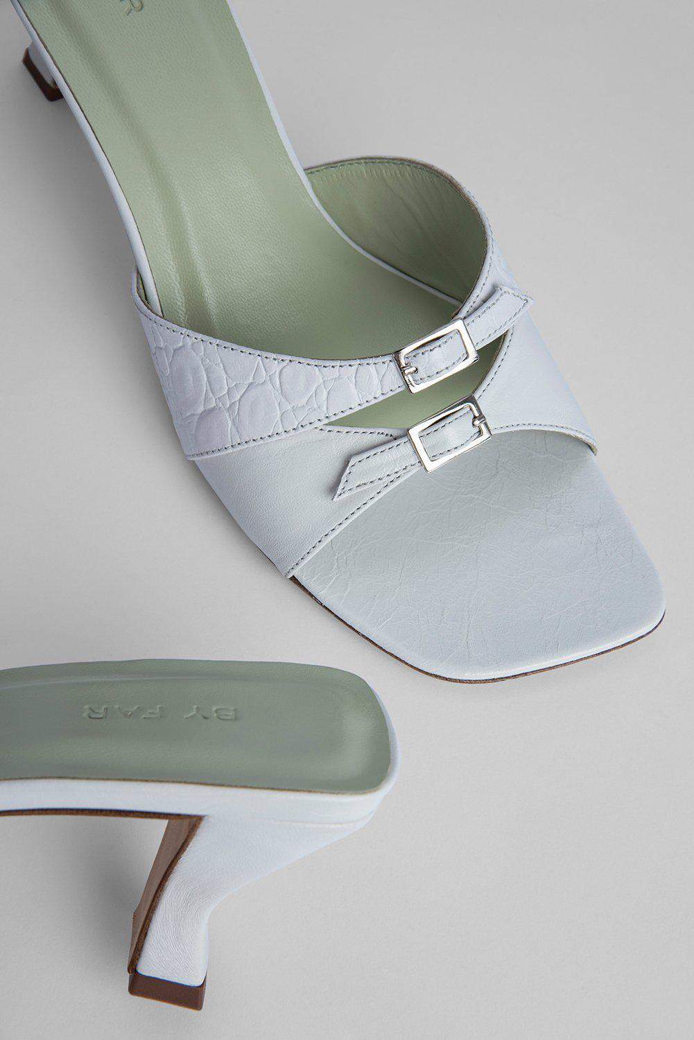 Noor White Gloss Leather 2