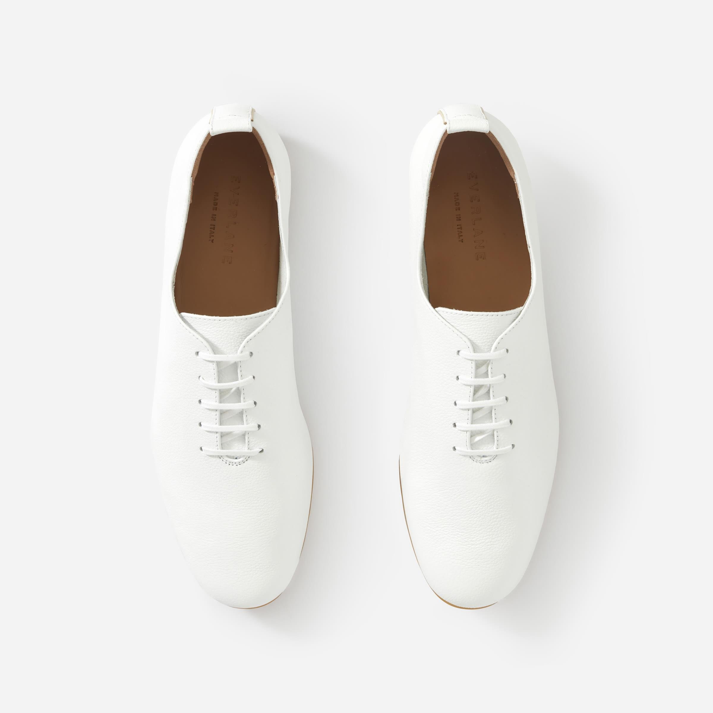 The Leather Lace-Up Flat 3