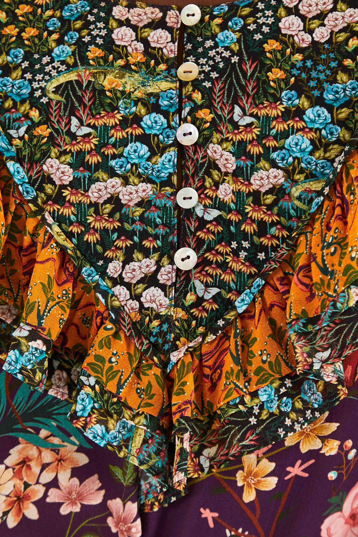 DITSY FLORAL MIX BLOUSE 4