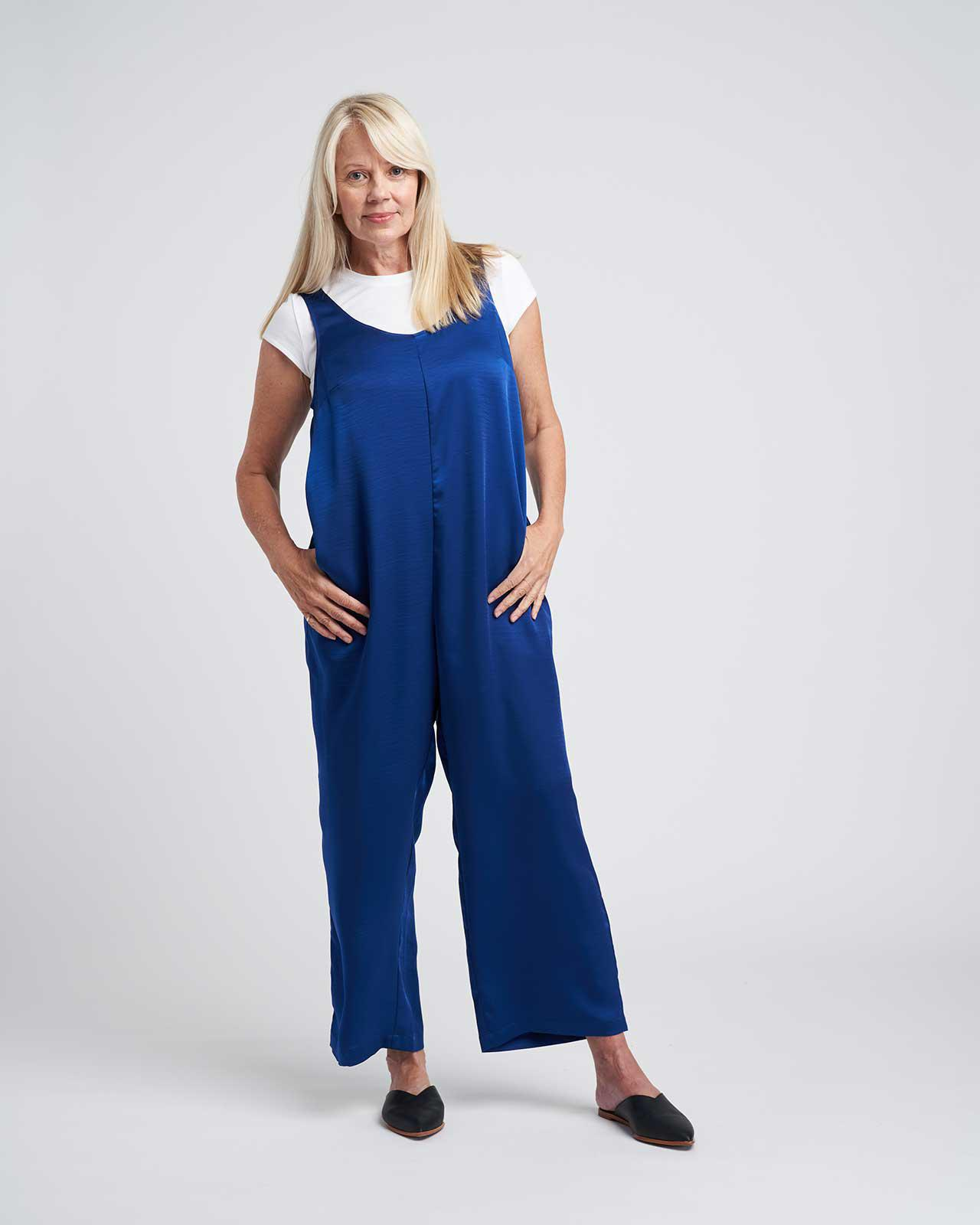 Judy Satin Relaxed Jumpsuit 3