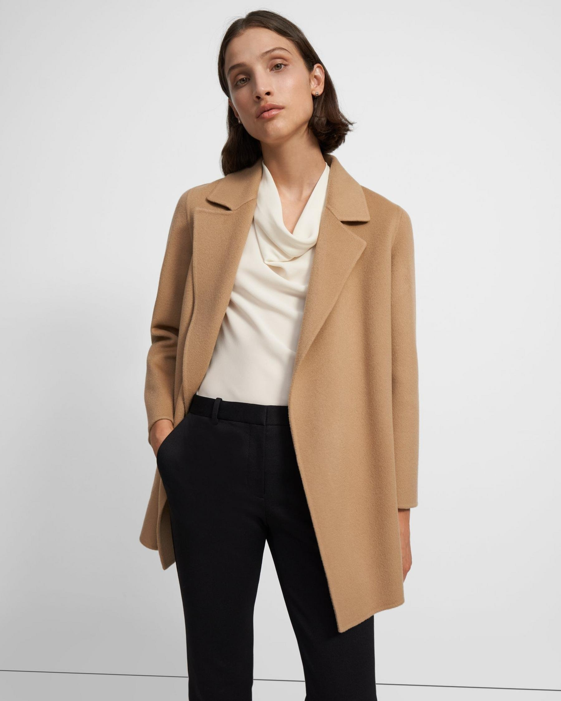 Clairene Jacket in Double-Face Wool-Cashmere 3