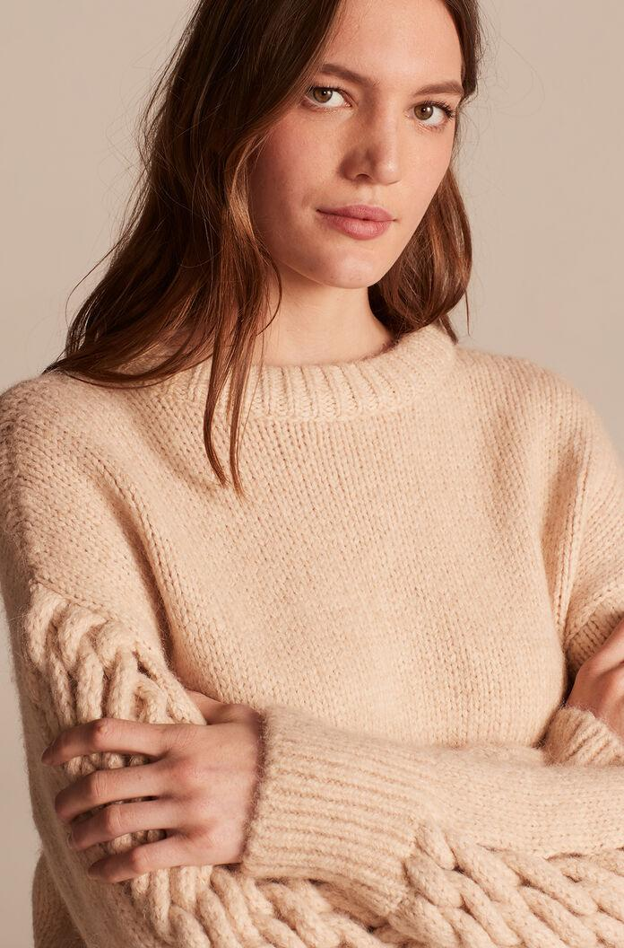 BRAIDED PULLOVER 0