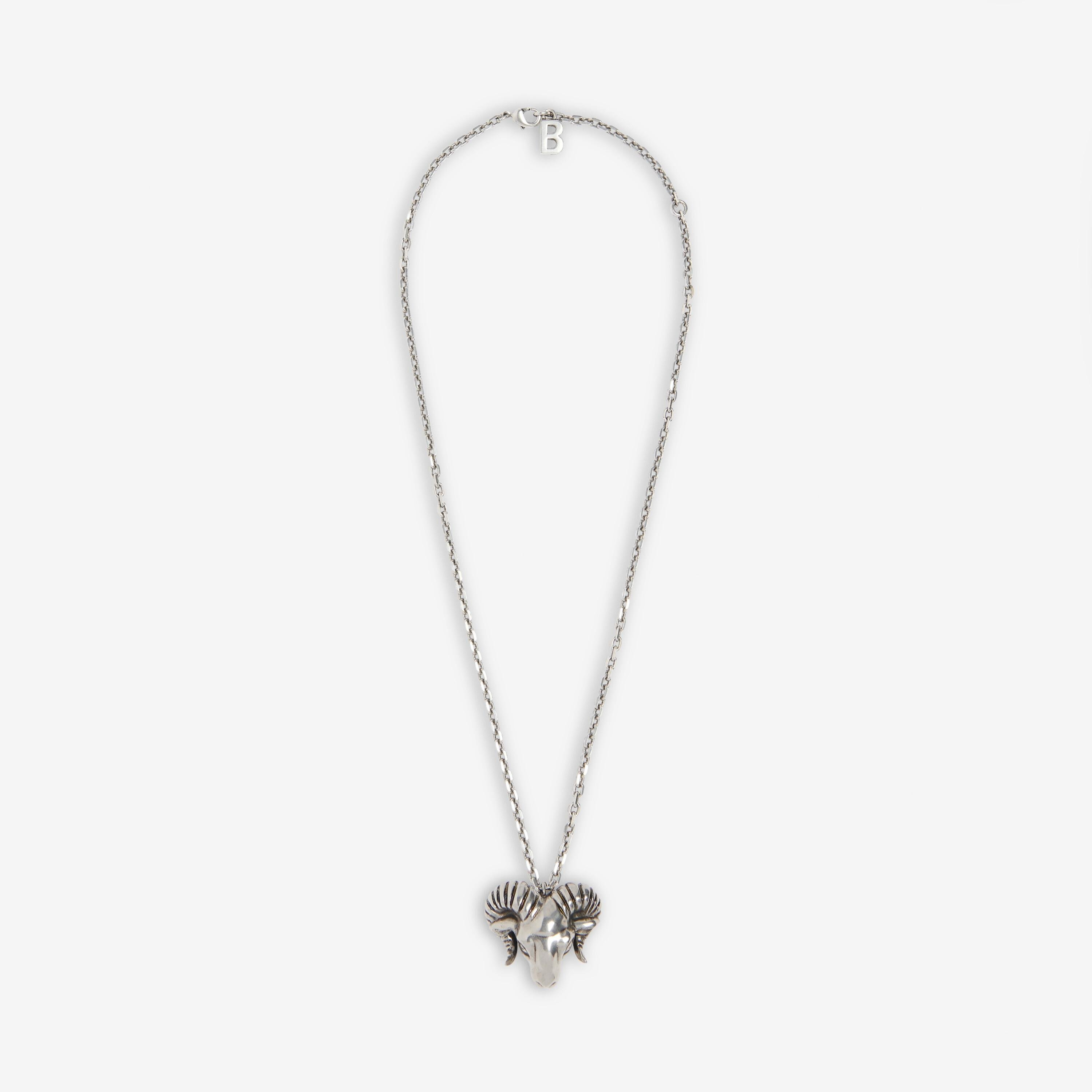 Zodiac Sign Aries Necklace