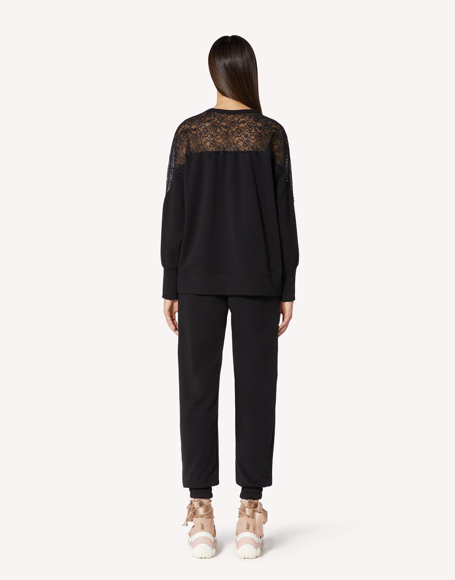 SWEATSHIRT WITH LACE 1