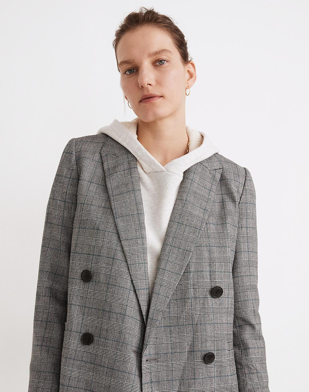 Caldwell Double-Breasted Blazer: Peaked Lapel Edition 1